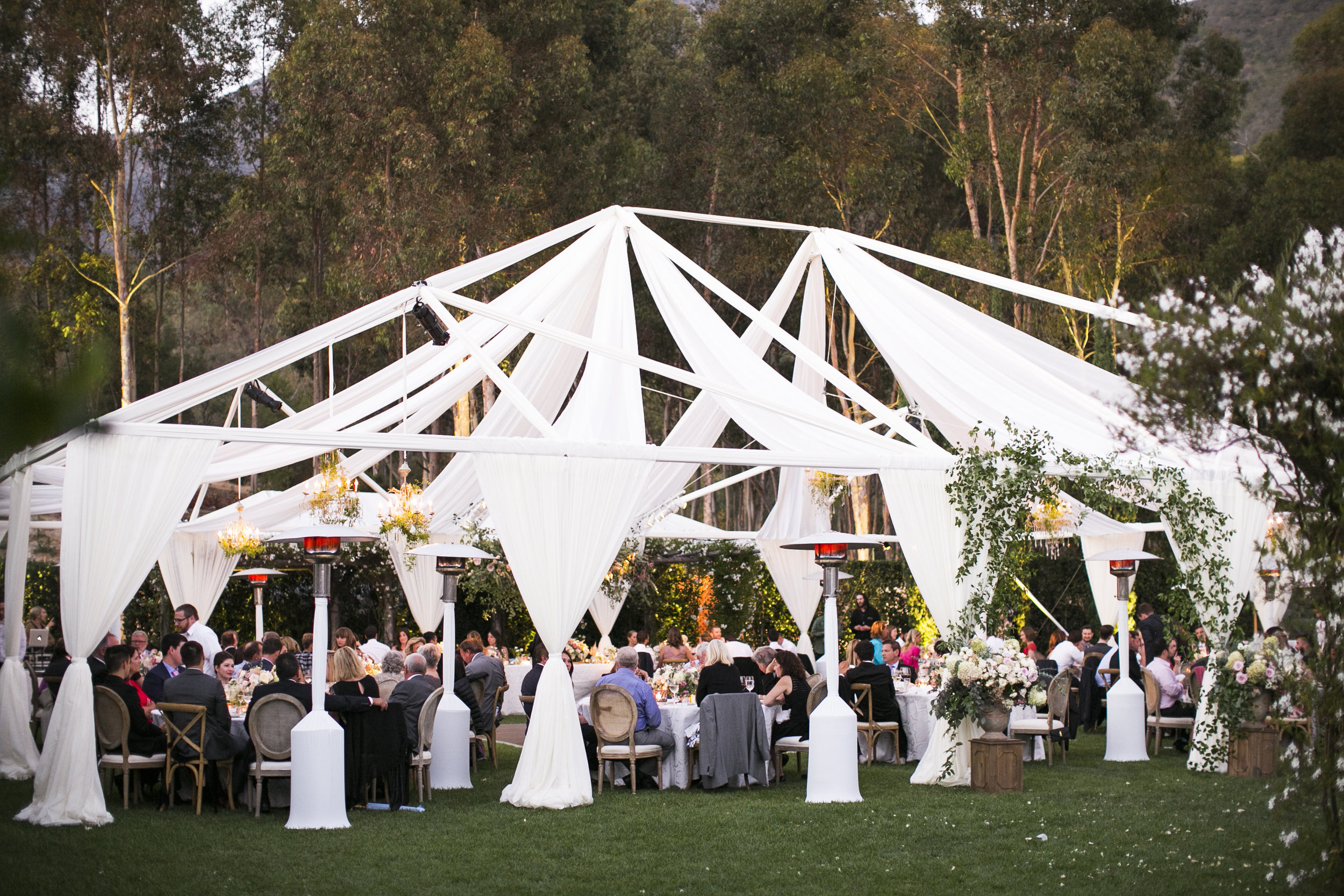 www.santabarbarawedding.com | Event of the Season | San Ysidro Ranch | Birds of a Feather | Reception