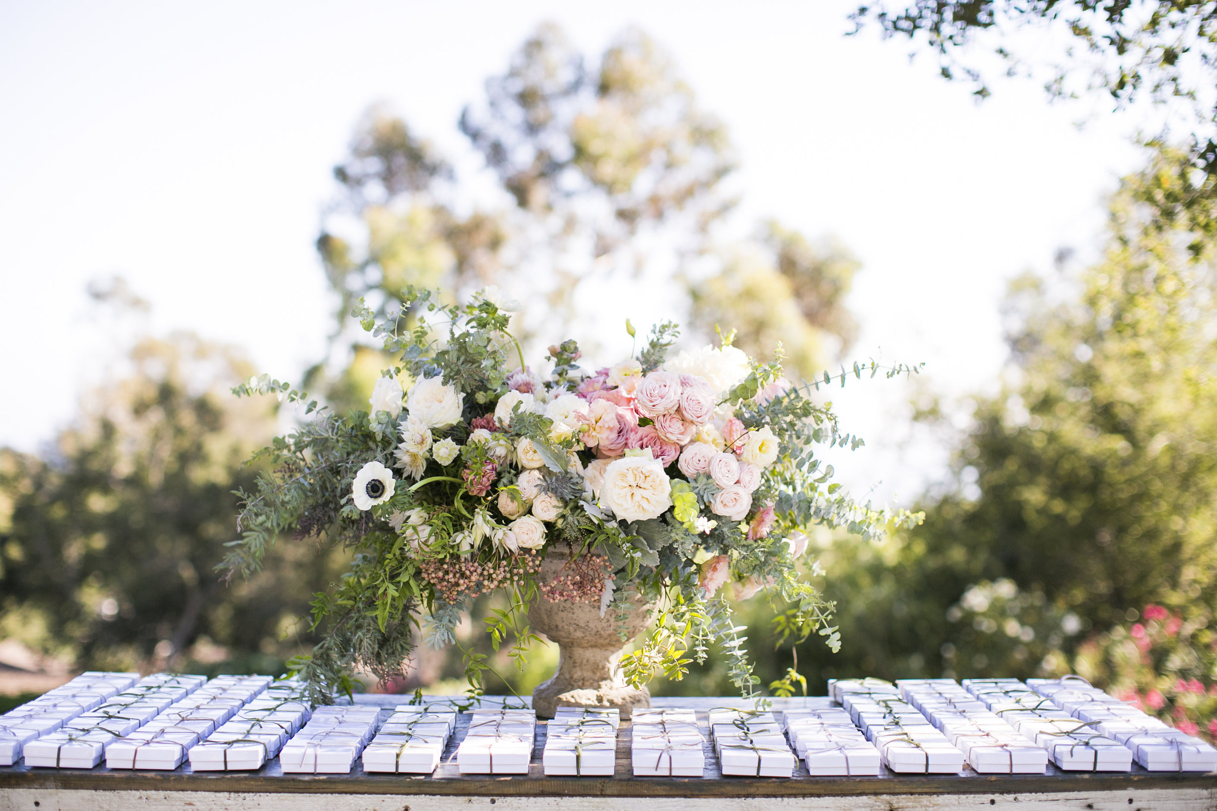 www.santabarbarawedding.com | Event of the Season | San Ysidro Ranch | Birds of a Feather | Wedding Favors