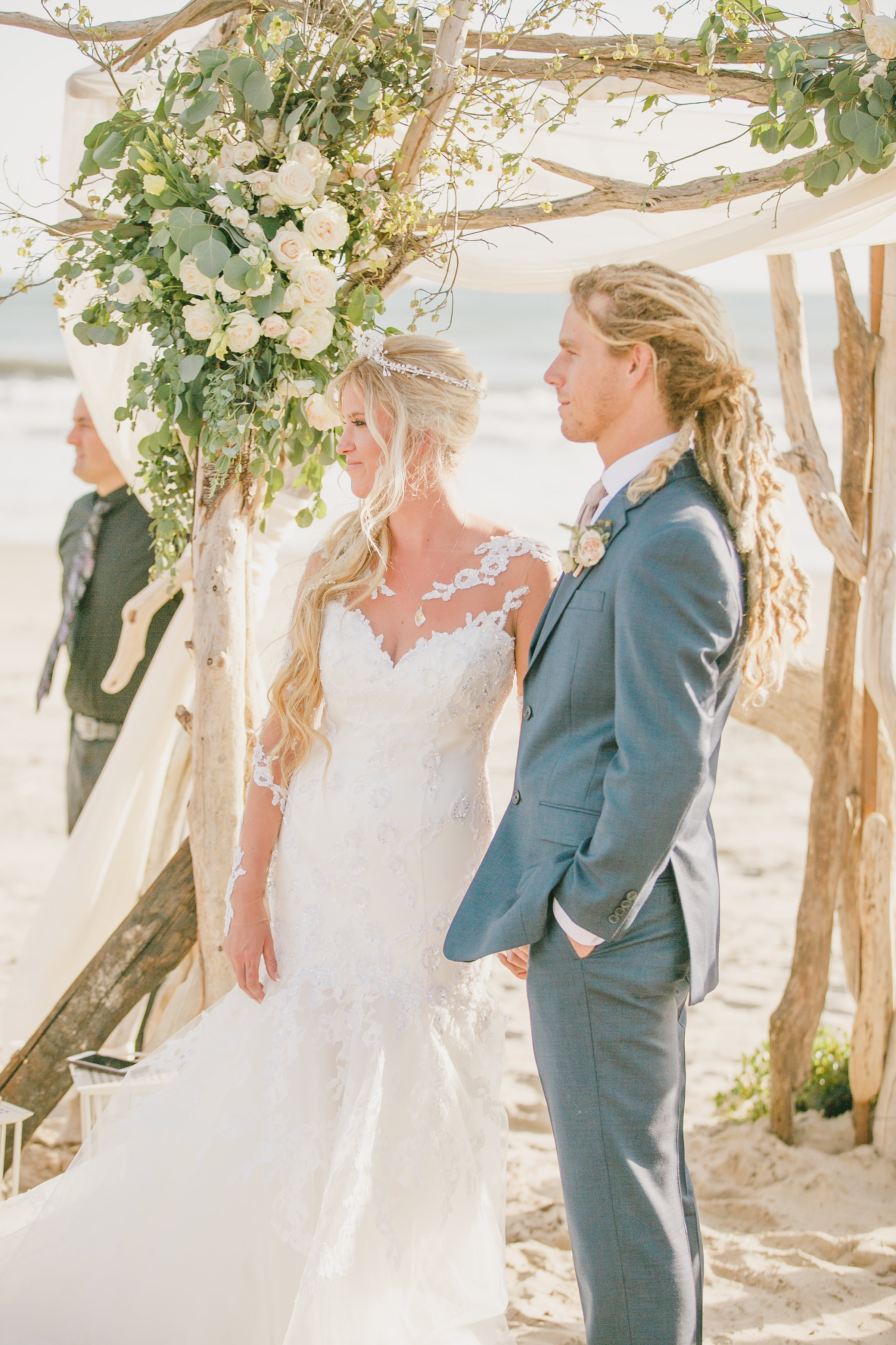 Beachside Shabby Chic Wedding
