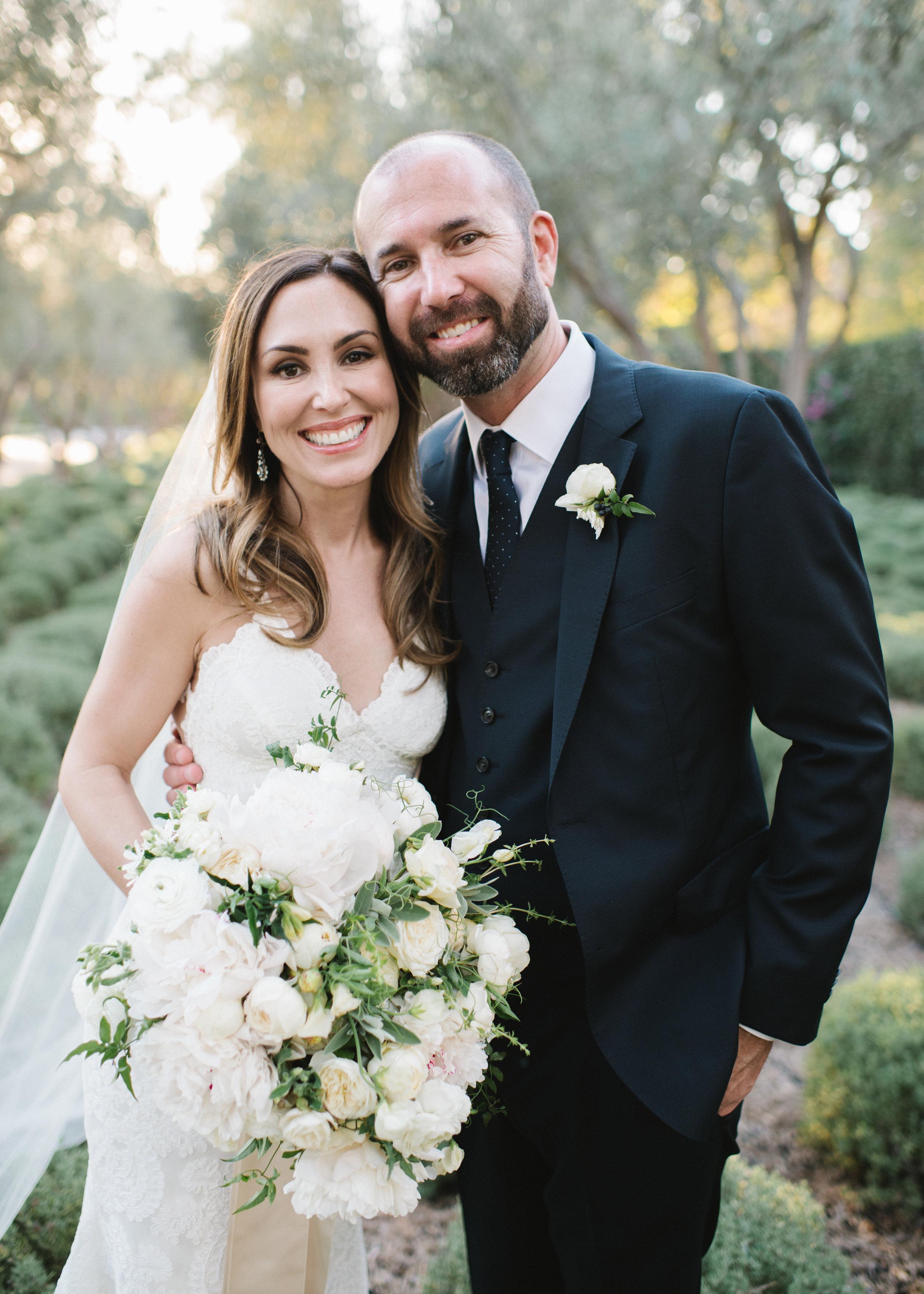 www.santabarbarawedding.com   Event of the Season   Norman and Blake   San Ysidro Ranch   Bride and Groom