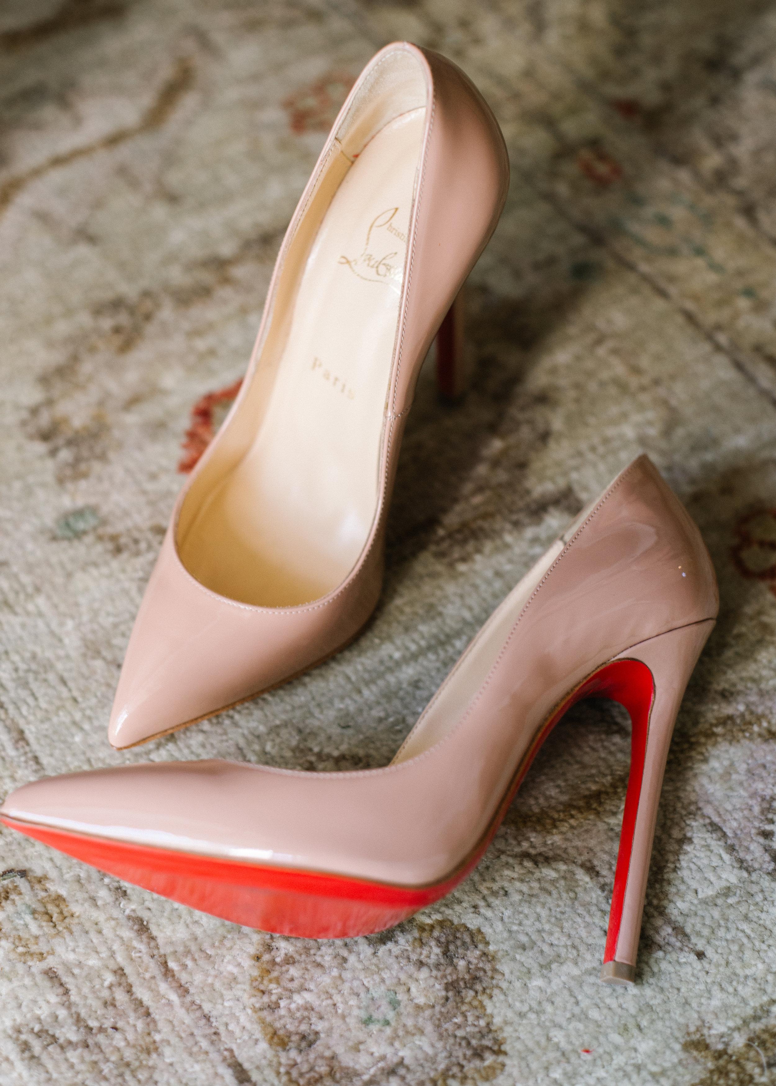 www.santabarbarawedding.com   Event of the Season   Norman and Blake   San Ysidro Ranch   Bride's Shoes