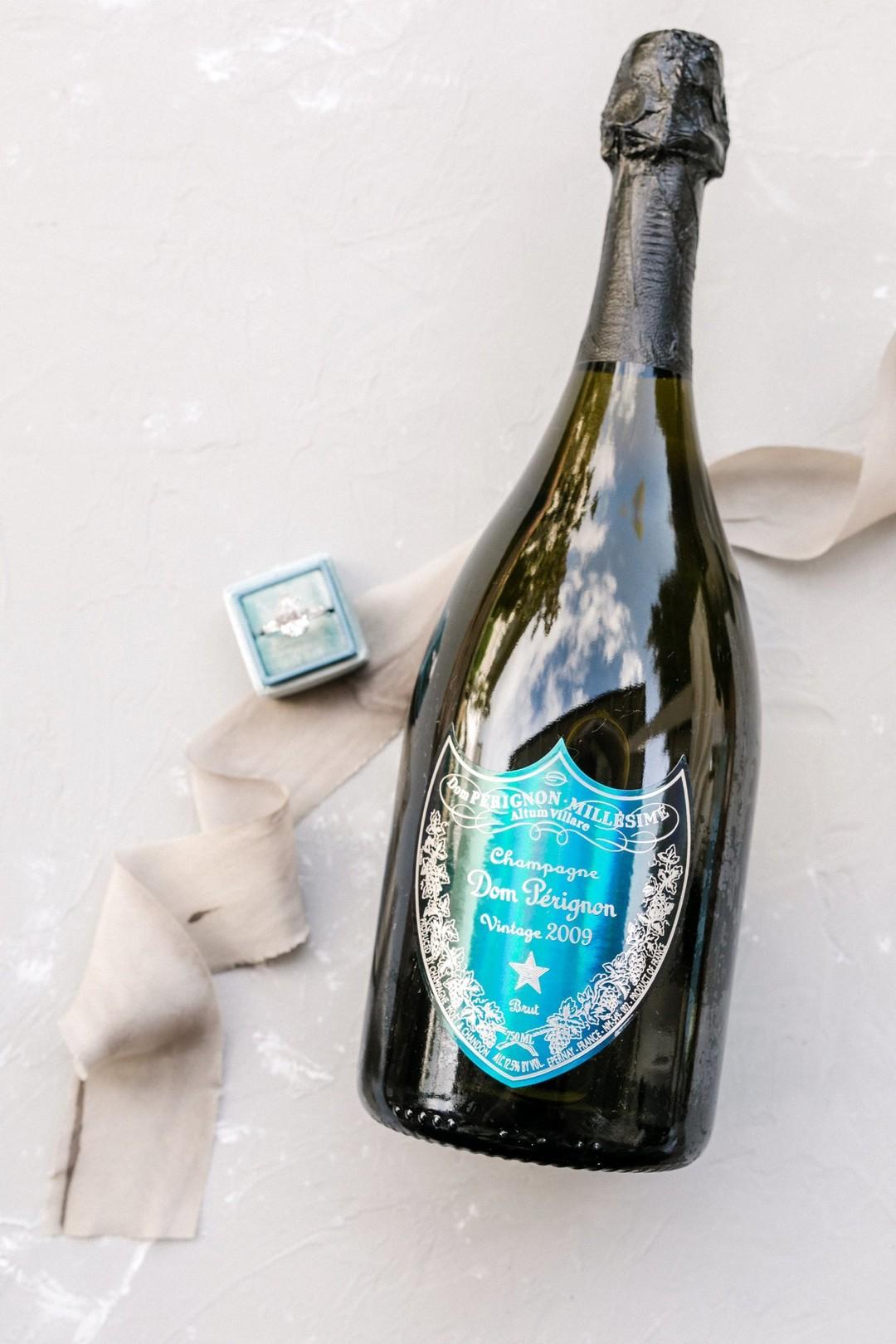 www.santabarbarawedding.com | Anna Delores | Vanessa Noel Events | Belmond El Encanto | Champagne