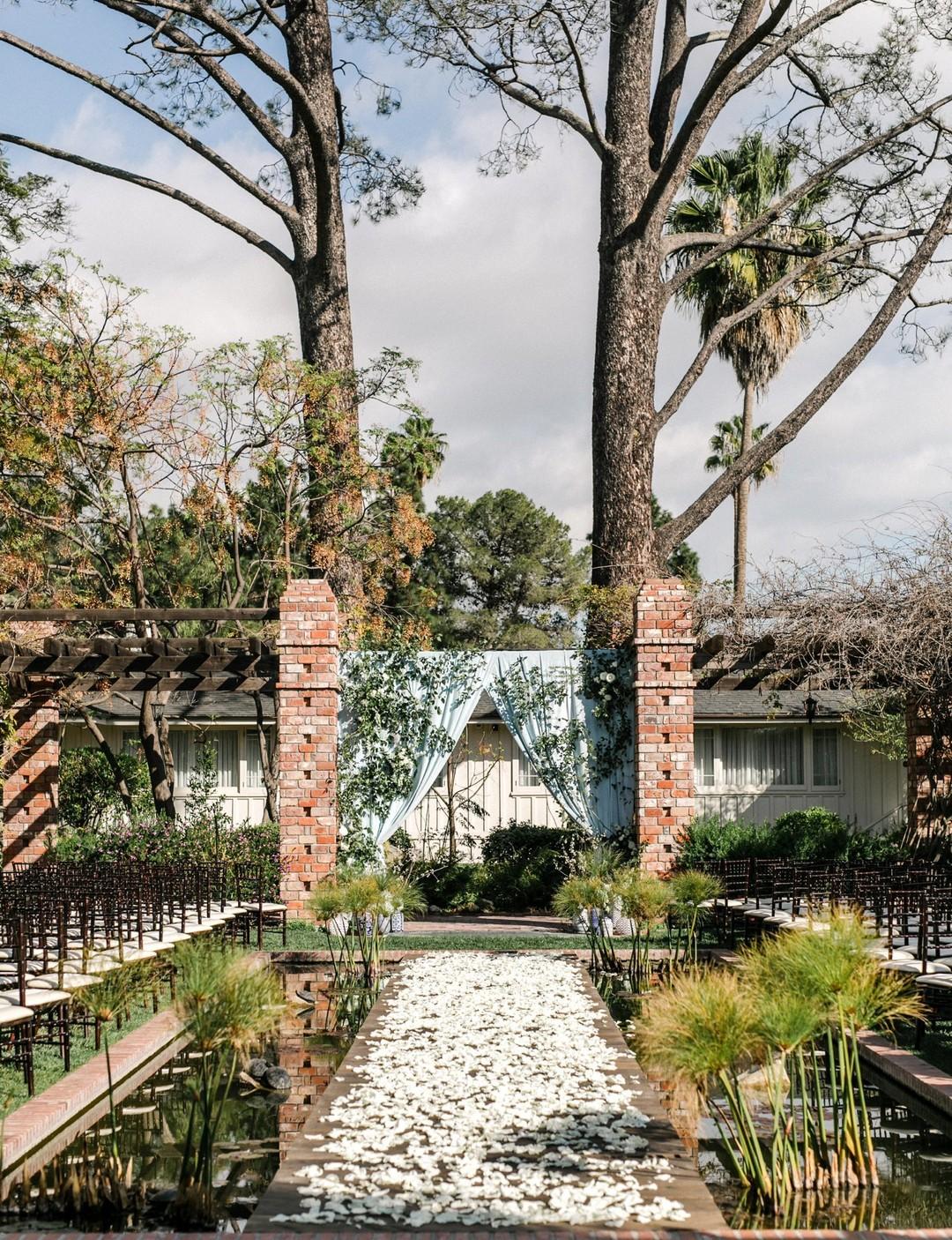 www.santabarbarawedding.com | Anna Delores | Vanessa Noel Events | Belmond El Encanto | Ceremony