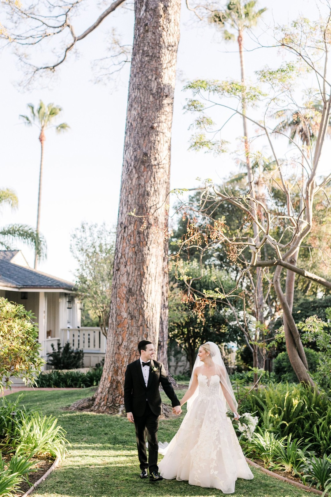 www.santabarbarawedding.com | Anna Delores | Vanessa Noel Events | Belmond El Encanto | Bride and Groom