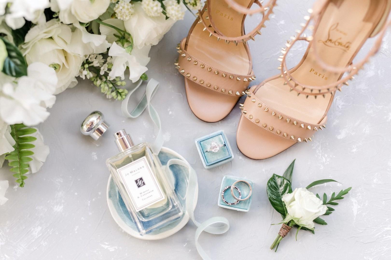 www.santabarbarawedding.com | Anna Delores | Vanessa Noel Events | Belmond El Encanto | Bride's Accessories