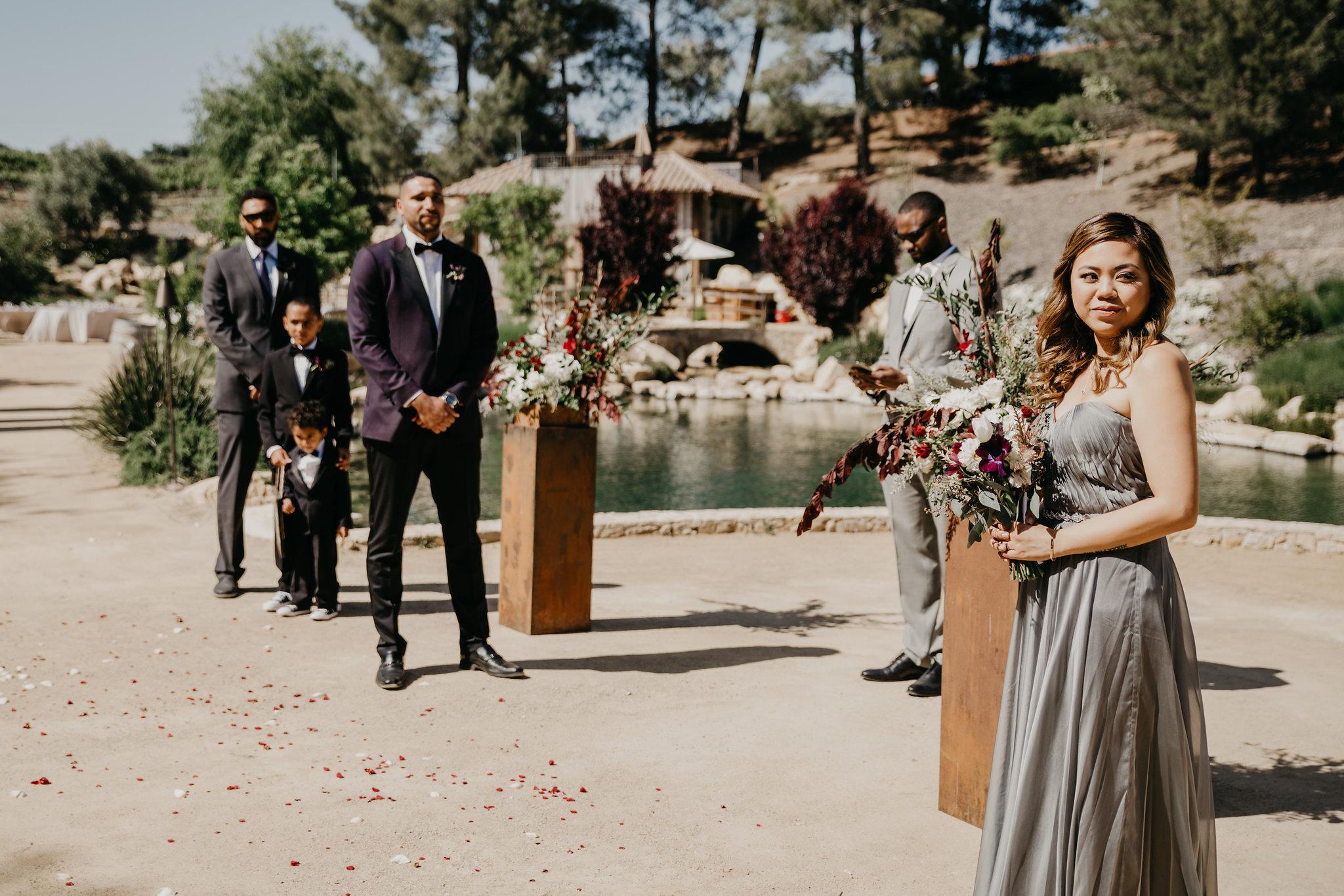 www.santabarbarawedding.com | Terra Mia Vineyard | Diana Lake Photography | Ceremony