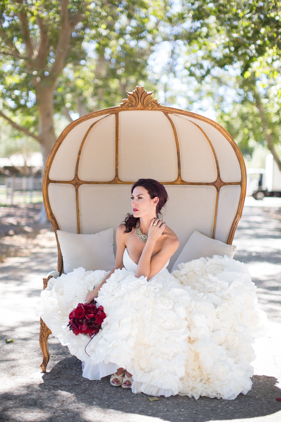 www.santabarbarawedding.com | Ann Johnson Events | Jessica Lewis Photo | Whispering Rose Ranch | Bride