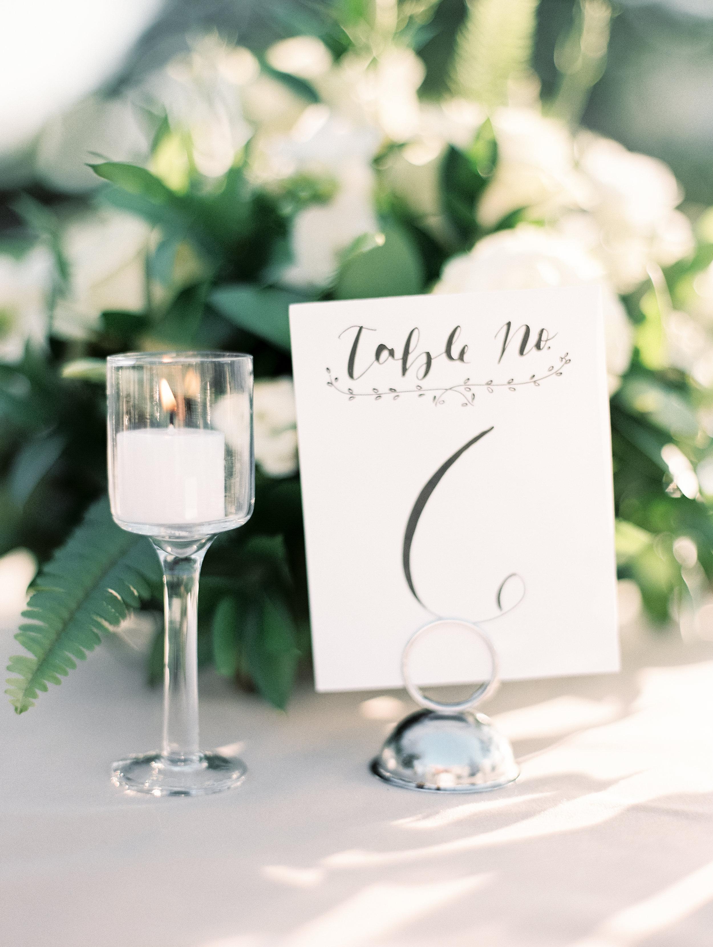 www.santabarbarawedding.com   El Presidio   Santa Barbara Club   Taralynn Lawton   Table Number