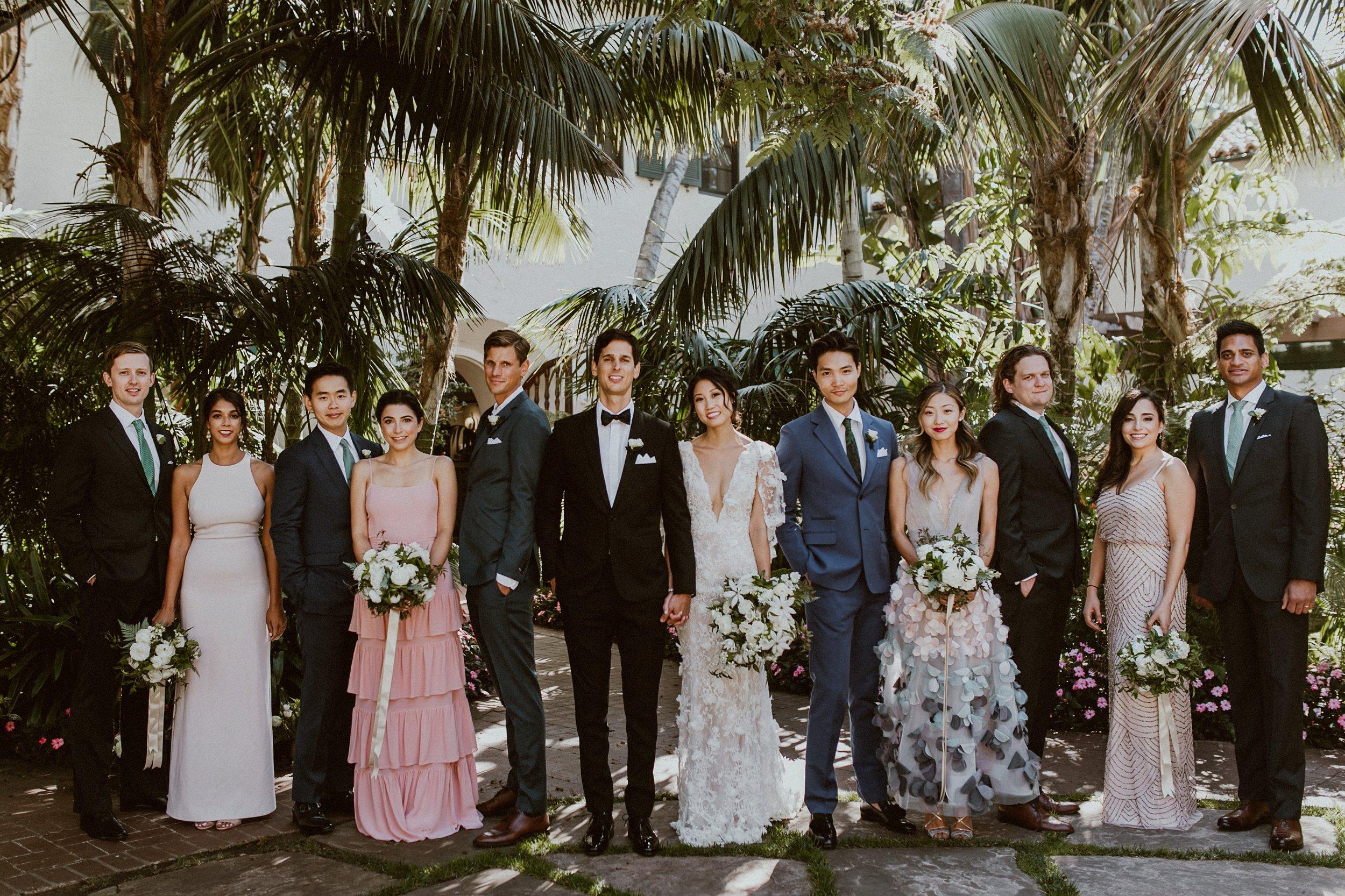 www.santabarbarawedding.com | Event of the Season | Gina and Ryan Photo | Four Seasons | Bridal Party