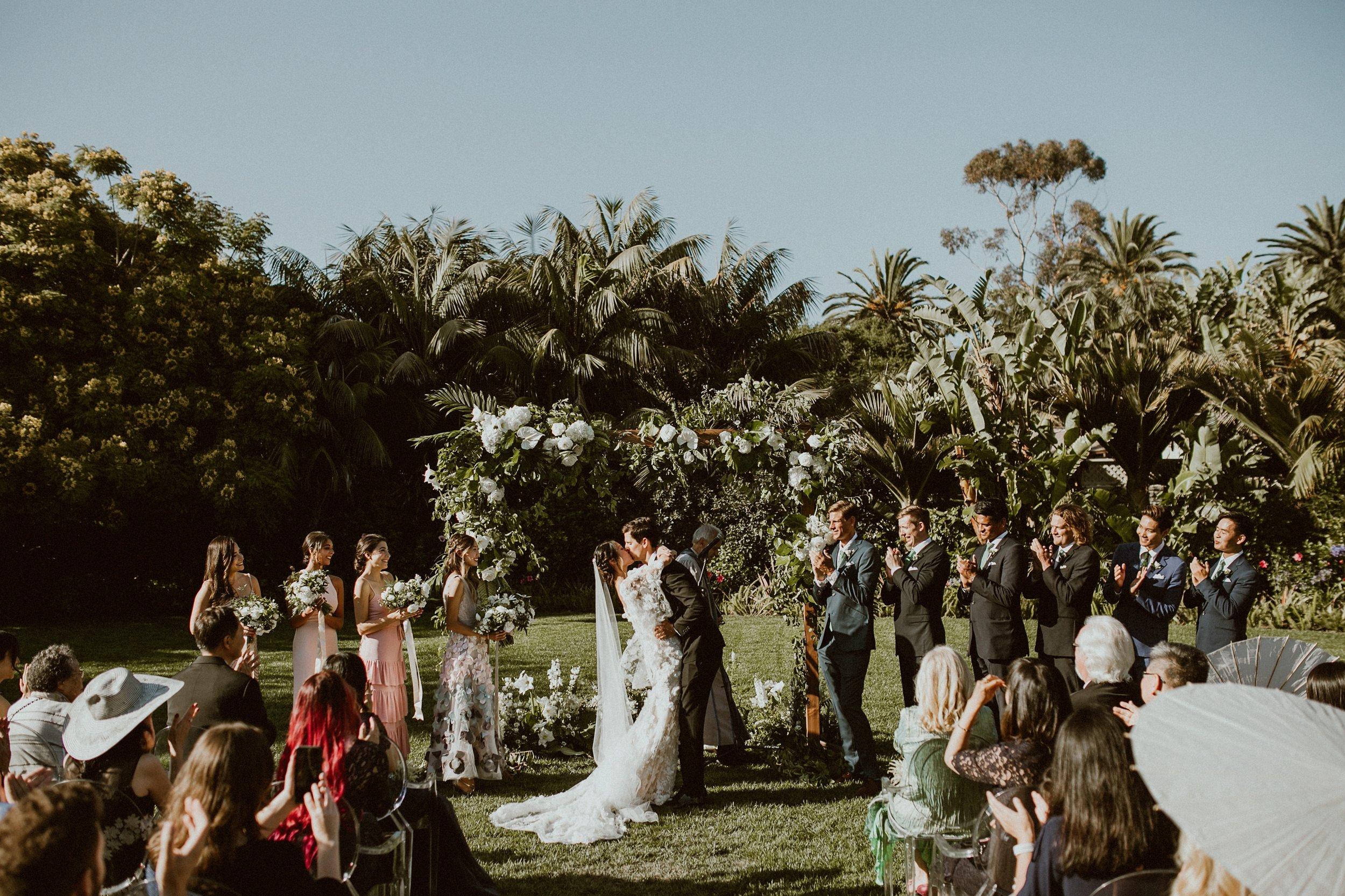 www.santabarbarawedding.com | Event of the Season | Gina and Ryan Photo | Four Seasons | Ceremony
