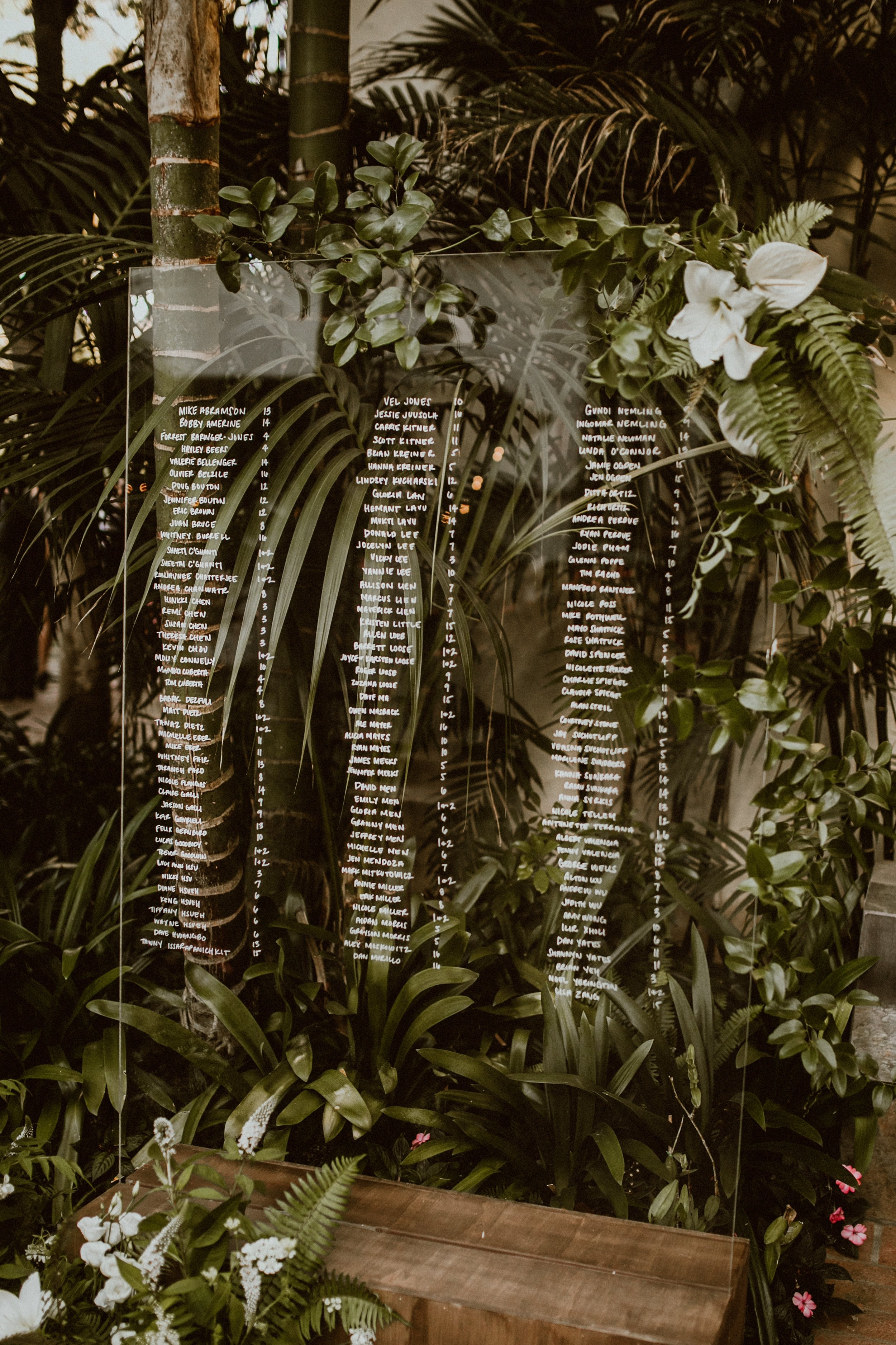 www.santabarbarawedding.com | Event of the Season | Gina and Ryan Photo | Four Seasons | Seating Chart
