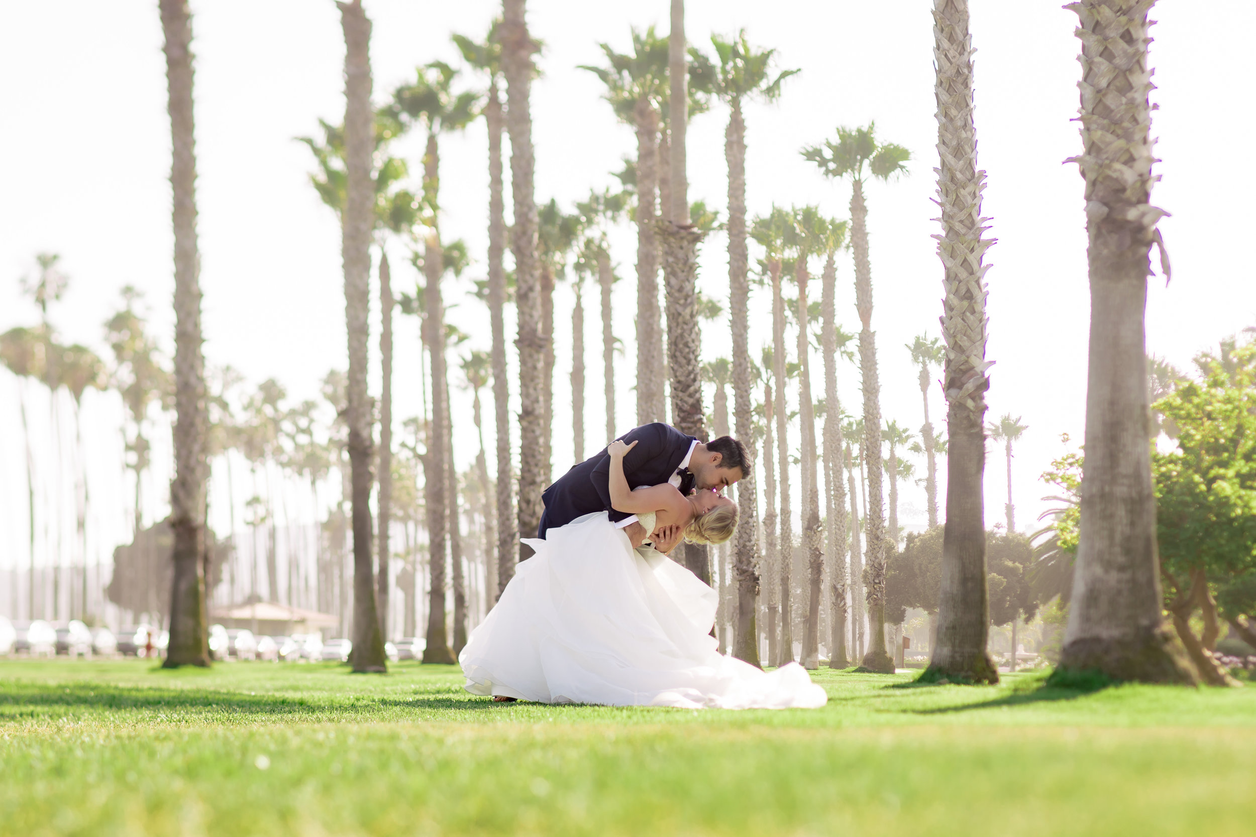 www.santabarbarawedding.com   Rewind Photography   Hilton Santa Barbara Beachfront Resort   Events by M and M   Bride and Groom