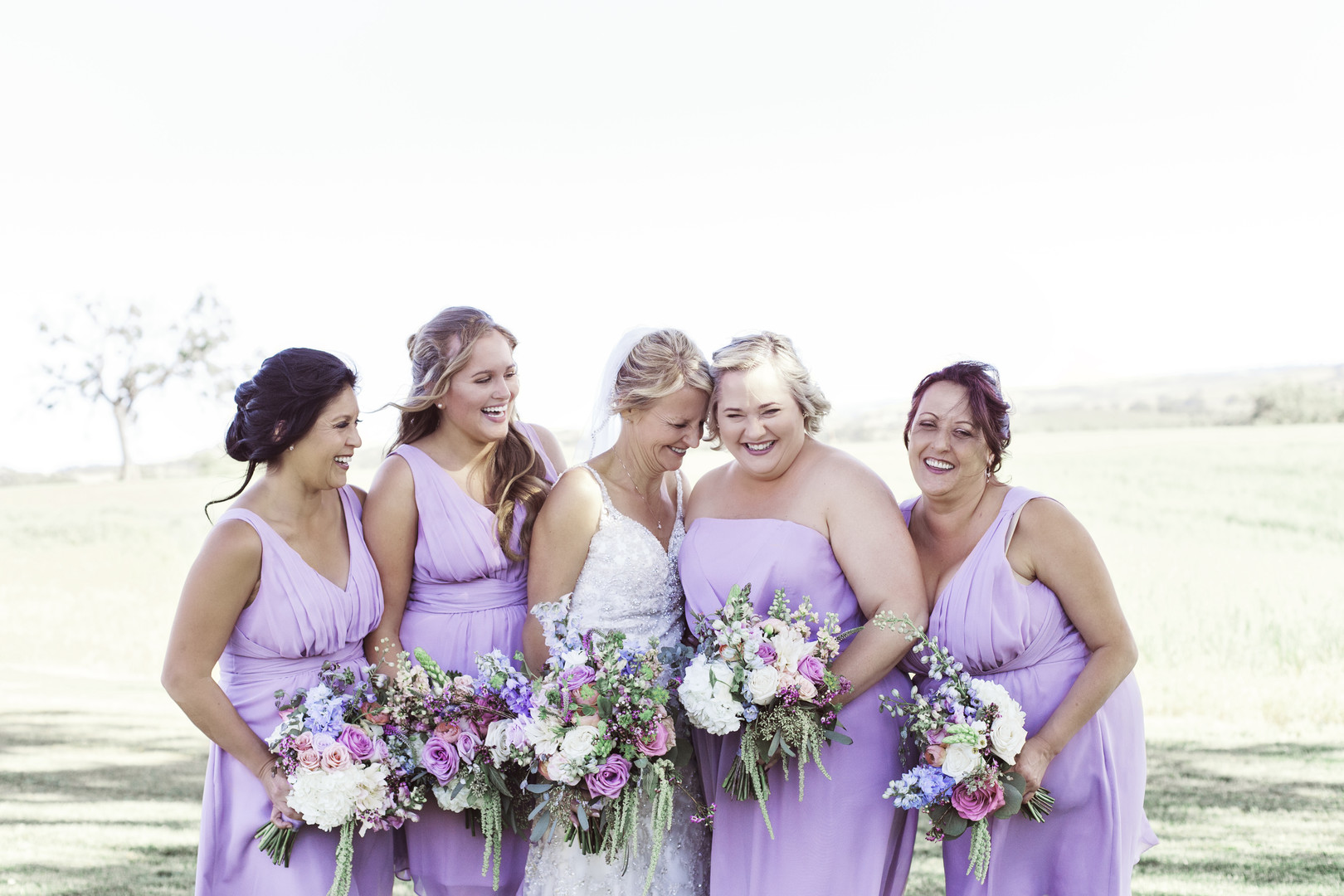 www.santabarbarawedding.com | Kay Mitchell | The Carriage House | Effortless Events | Bridesmaids