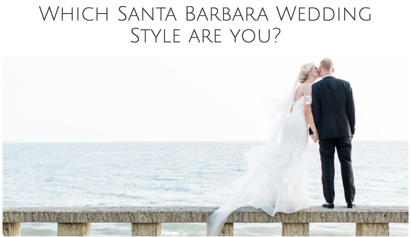 TAKE THE QUIZ Your Wedding Style?
