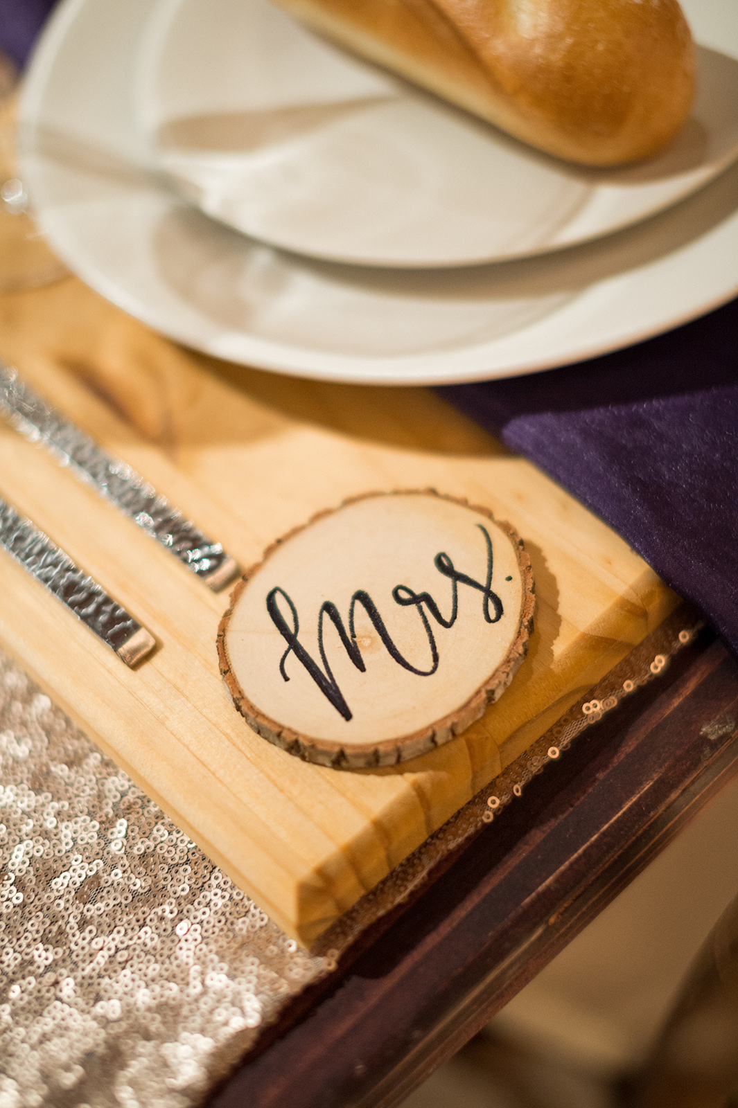 www.santabarbarawedding.com | Mike Larson | Islay Events | Greengate Ranch | Reception Place Setting Details