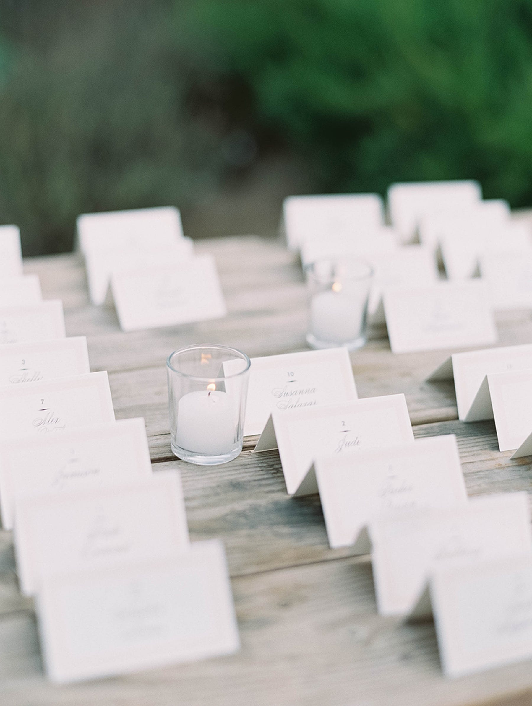 www.santabarbarawedding.com | Sunstone Winery | Luna de Mare | Esoteric Events | Escort Cards