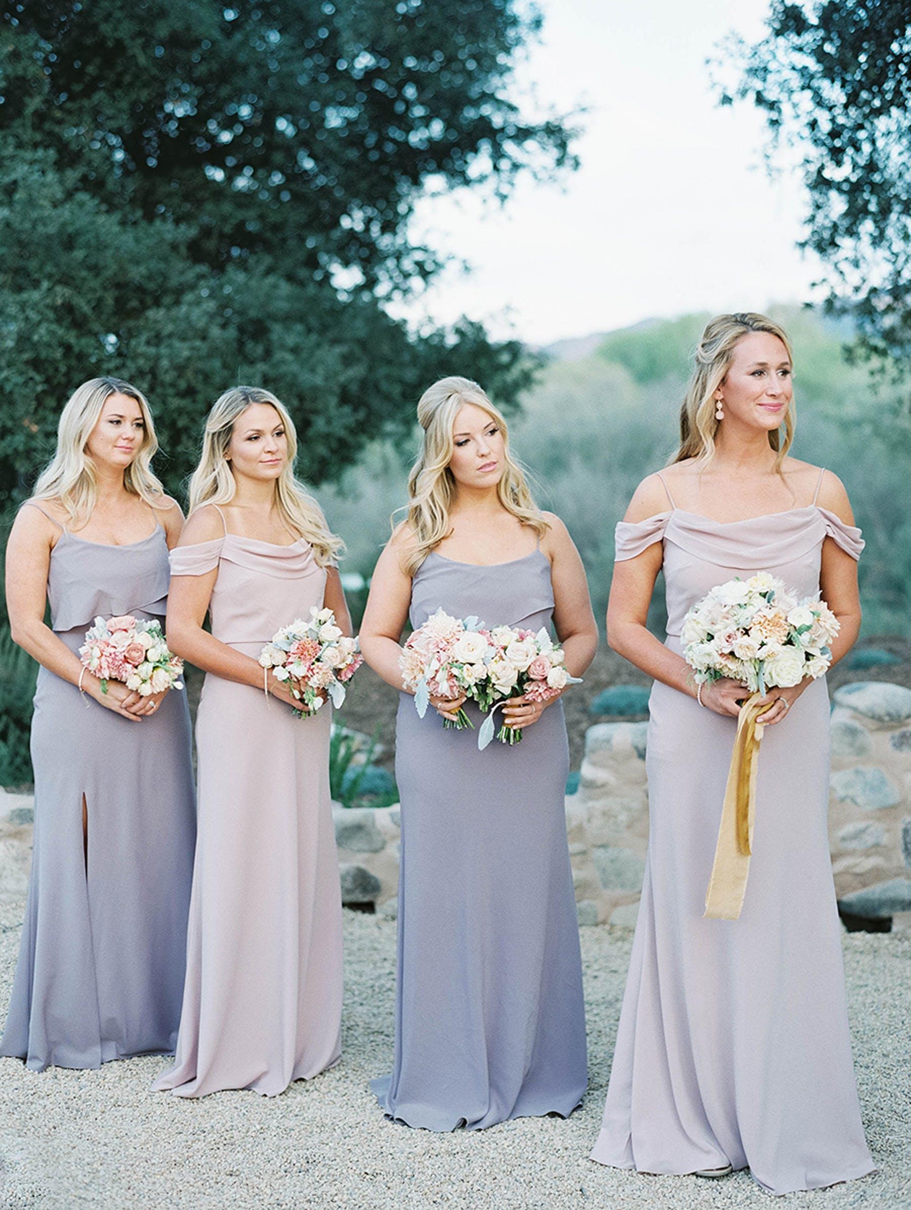 www.santabarbarawedding.com | Sunstone Winery | Luna de Mare | Esoteric Events | Bridesmaids