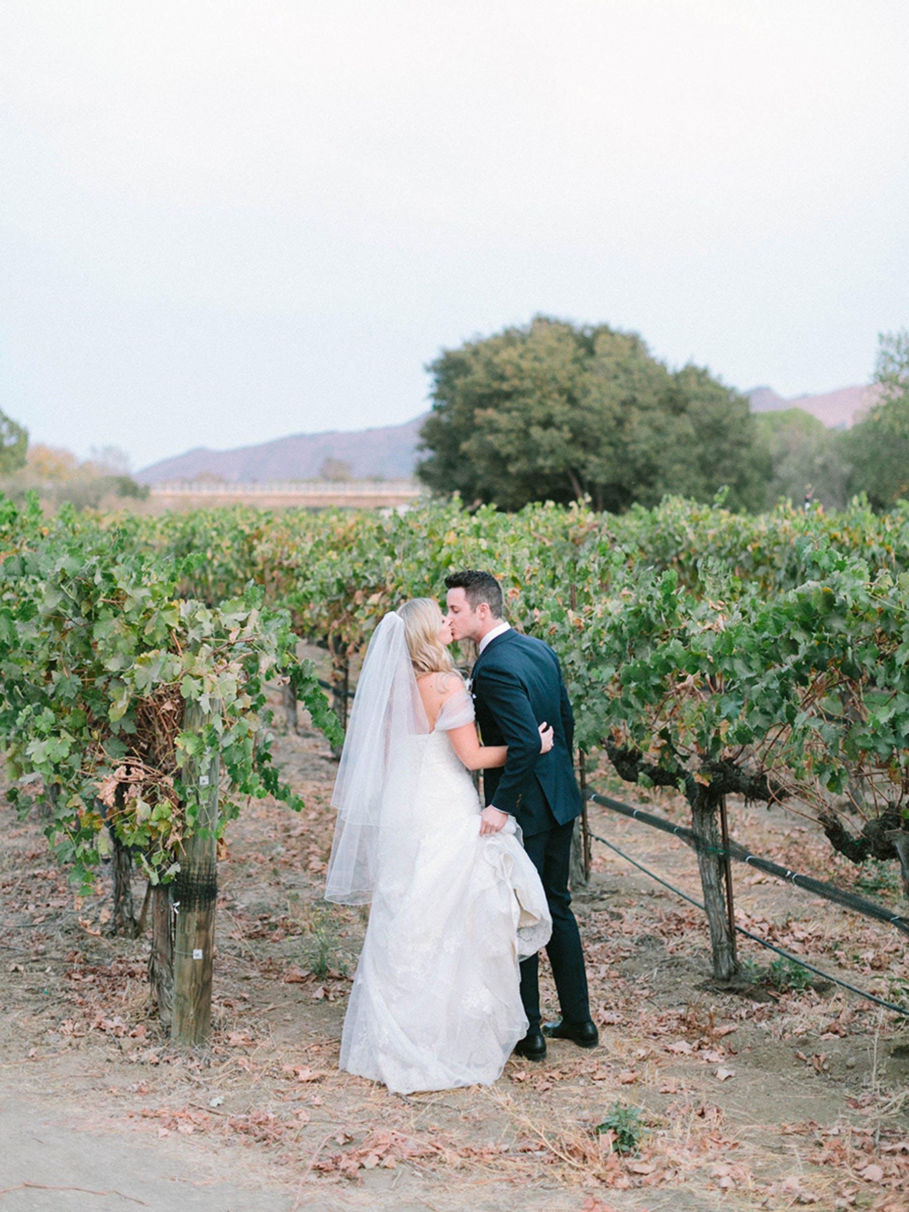 www.santabarbarawedding.com | Sunstone Winery | Luna de Mare | Esoteric Events | Bride and Groom