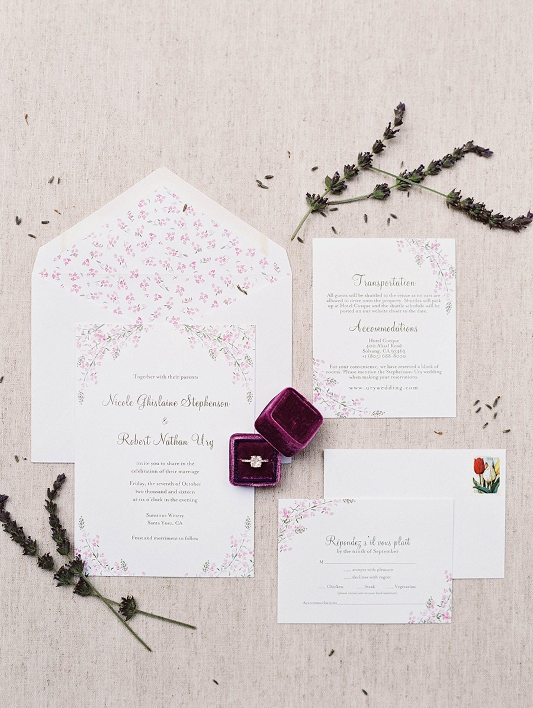 www.santabarbarawedding.com | Sunstone Winery | Luna de Mare | Esoteric Events | Invitations