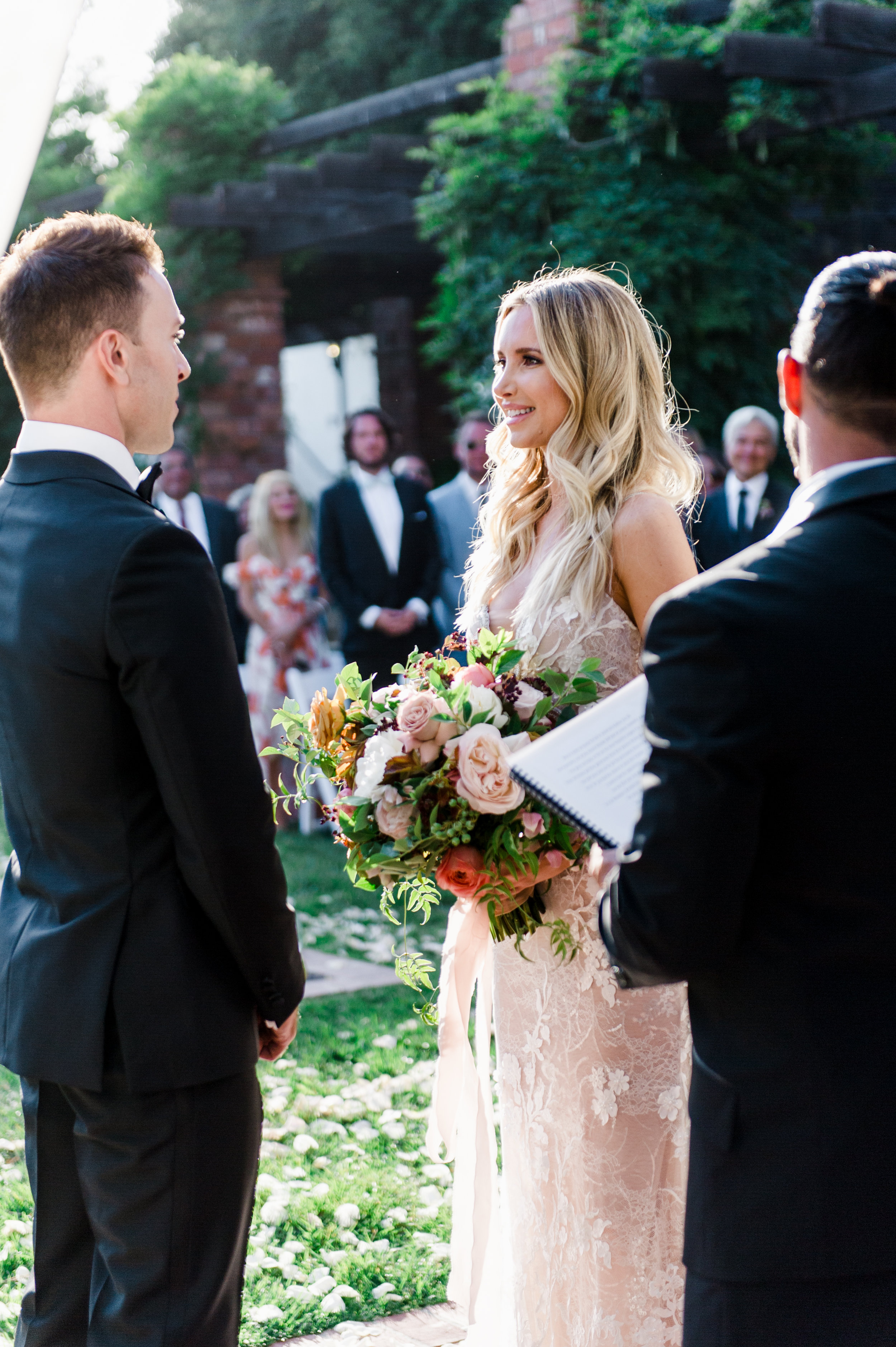 www.santabarbarawedding.com | Belmond El Encanto | Event of the Season | Taryn Grey Photo | Bride and Groom | Ceremony | Vows