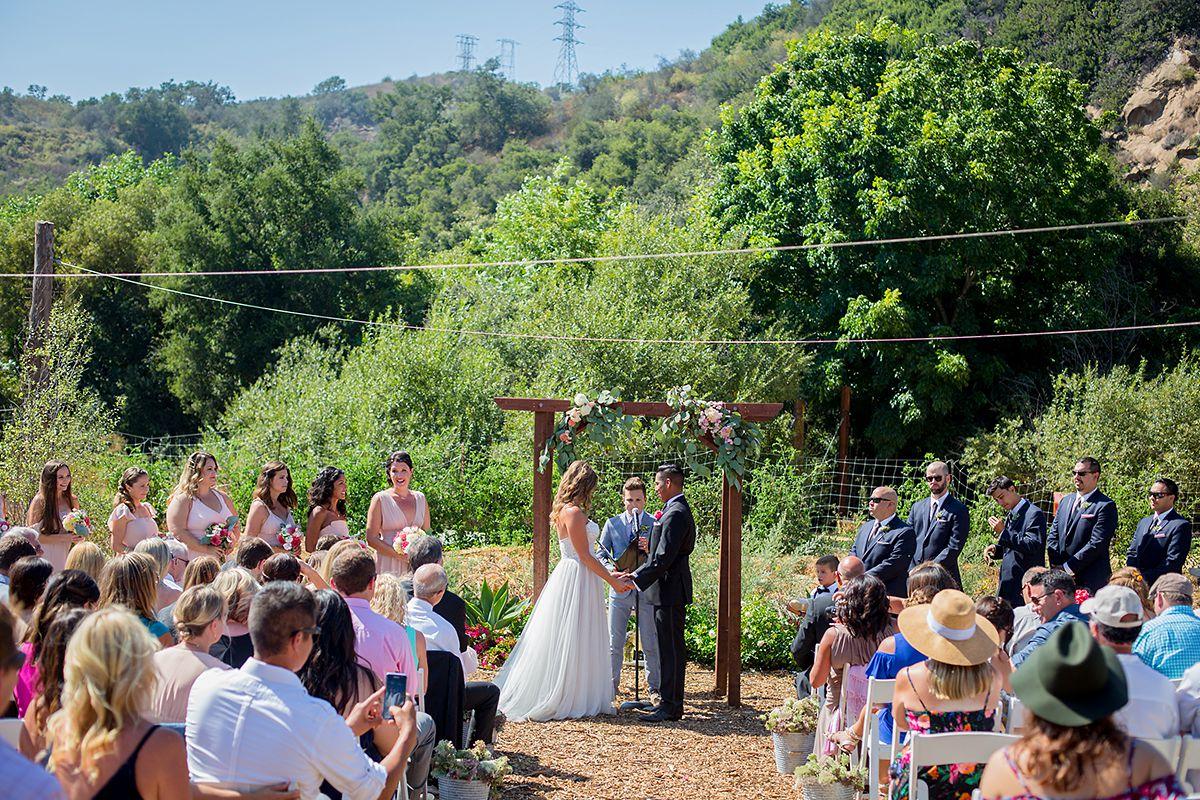 www.santabarbarawedding.com   Phillip Van Nostrand   Casitas Valley Farm   Ceremony