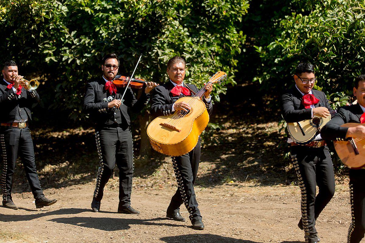 www.santabarbarawedding.com   Phillip Van Nostrand   Casitas Valley Farm   Mariachi Band