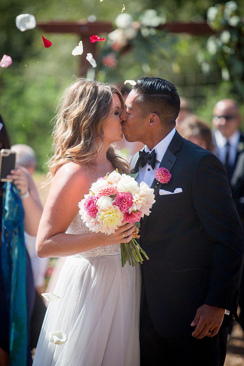 www.santabarbarawedding.com   Phillip Van Nostrand   Casitas Valley Farm   Bride and Groom