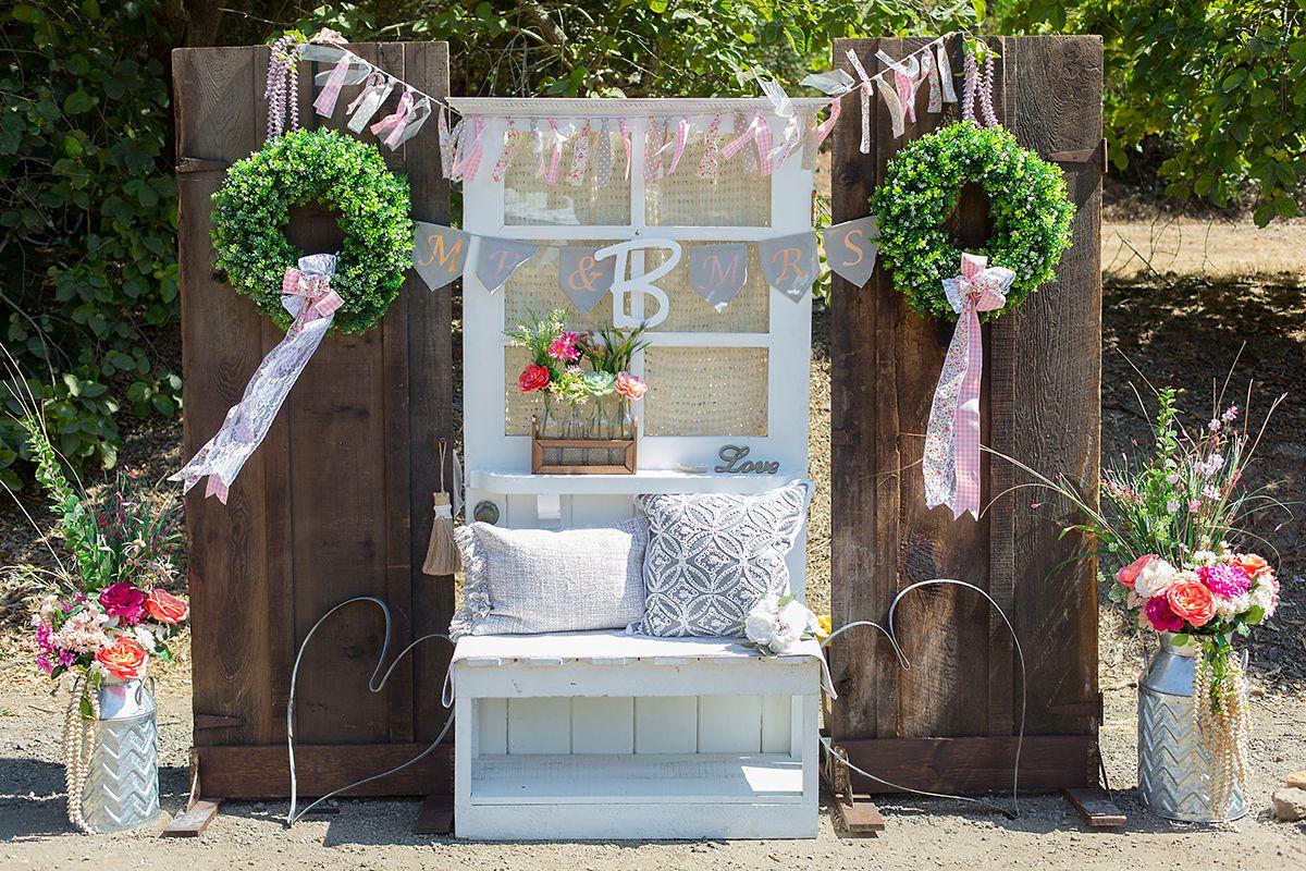 www.santabarbarawedding.com   Phillip Van Nostrand   Casitas Valley Farm   Reception Decor