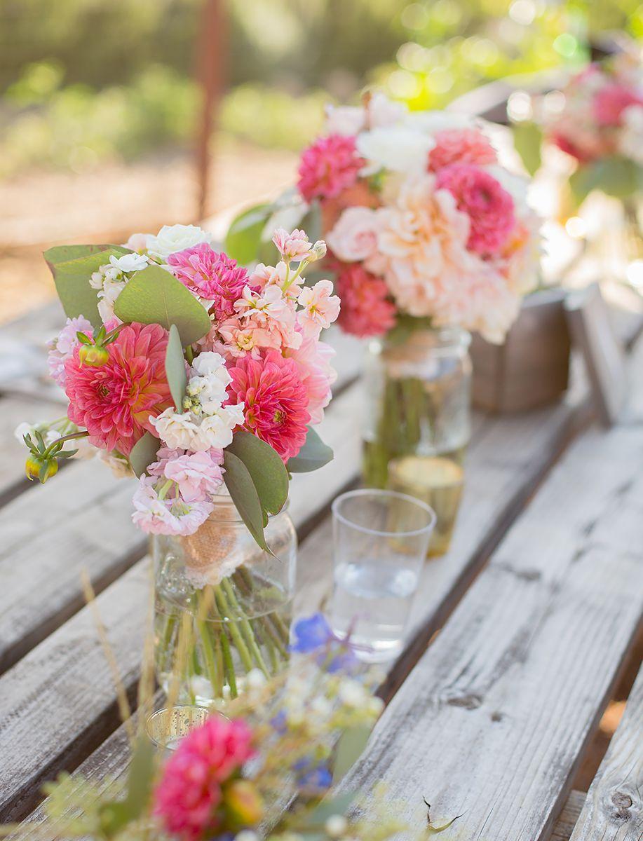 www.santabarbarawedding.com   Phillip Van Nostrand   Casitas Valley Farm   Flowers