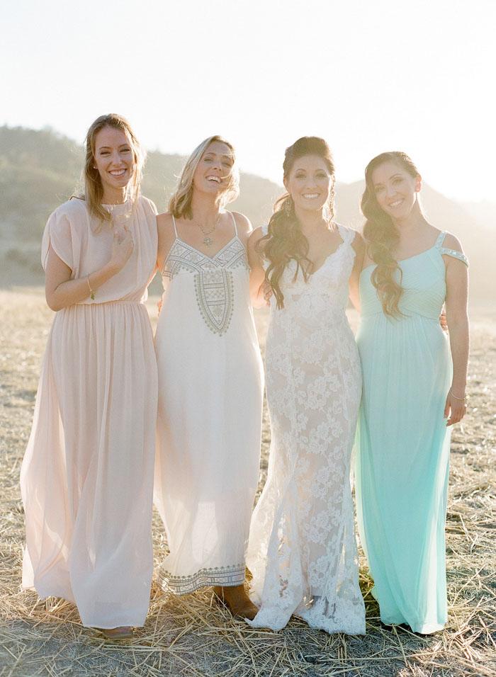 www.santabarbarawedding.com | Soigne Productions | Figueroa Mountain Farmhouse | Lacie Hansen | Bridesmaids