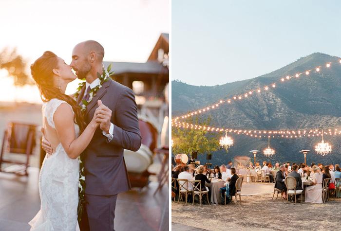 www.santabarbarawedding.com | Soigne Productions | Figueroa Mountain Farmhouse | Lacie Hansen | First Dance