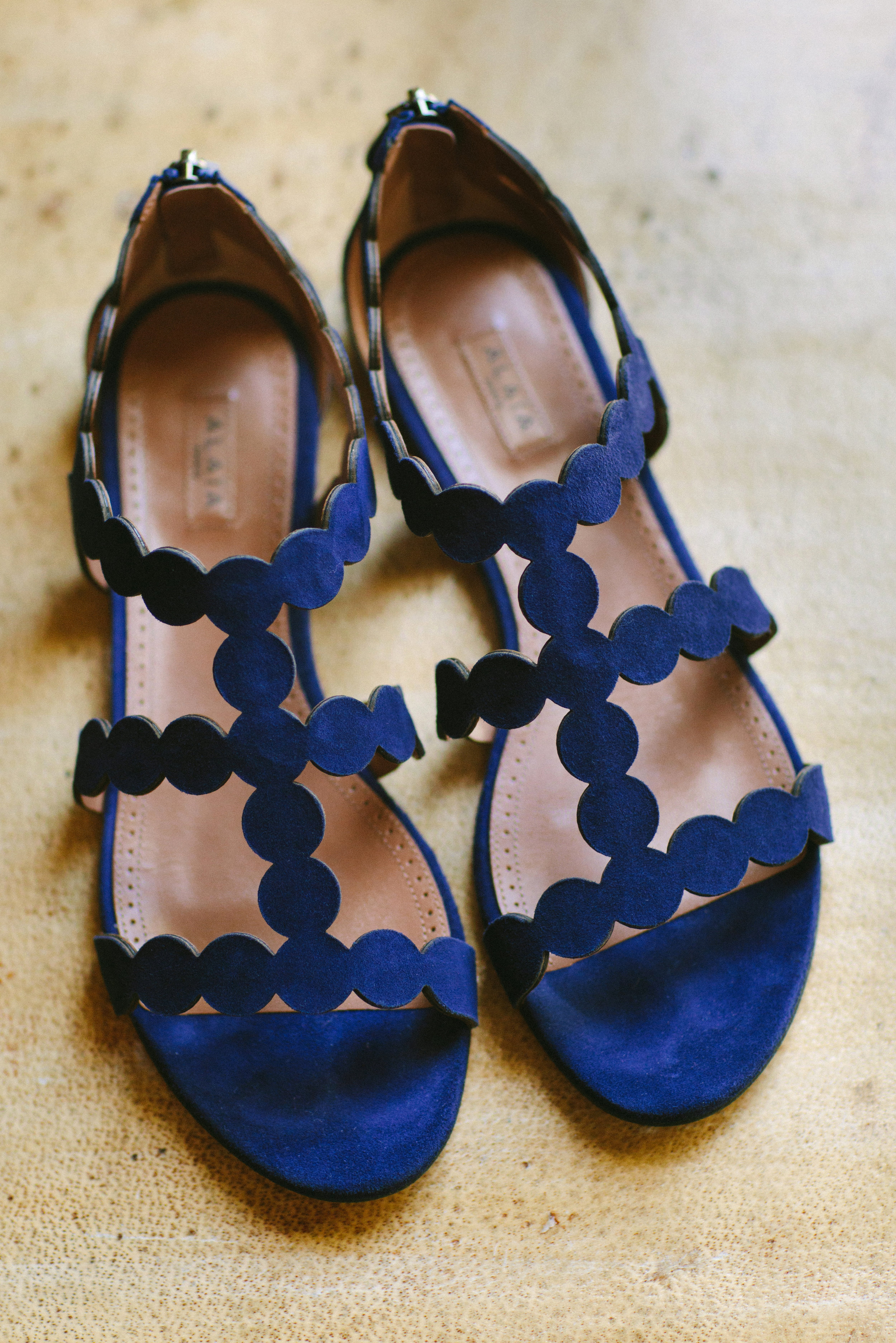 www.santabarbarawedding.com   San Ysidro Ranch   Imagine Events   Millay and Young Photo   Bride's Shoes