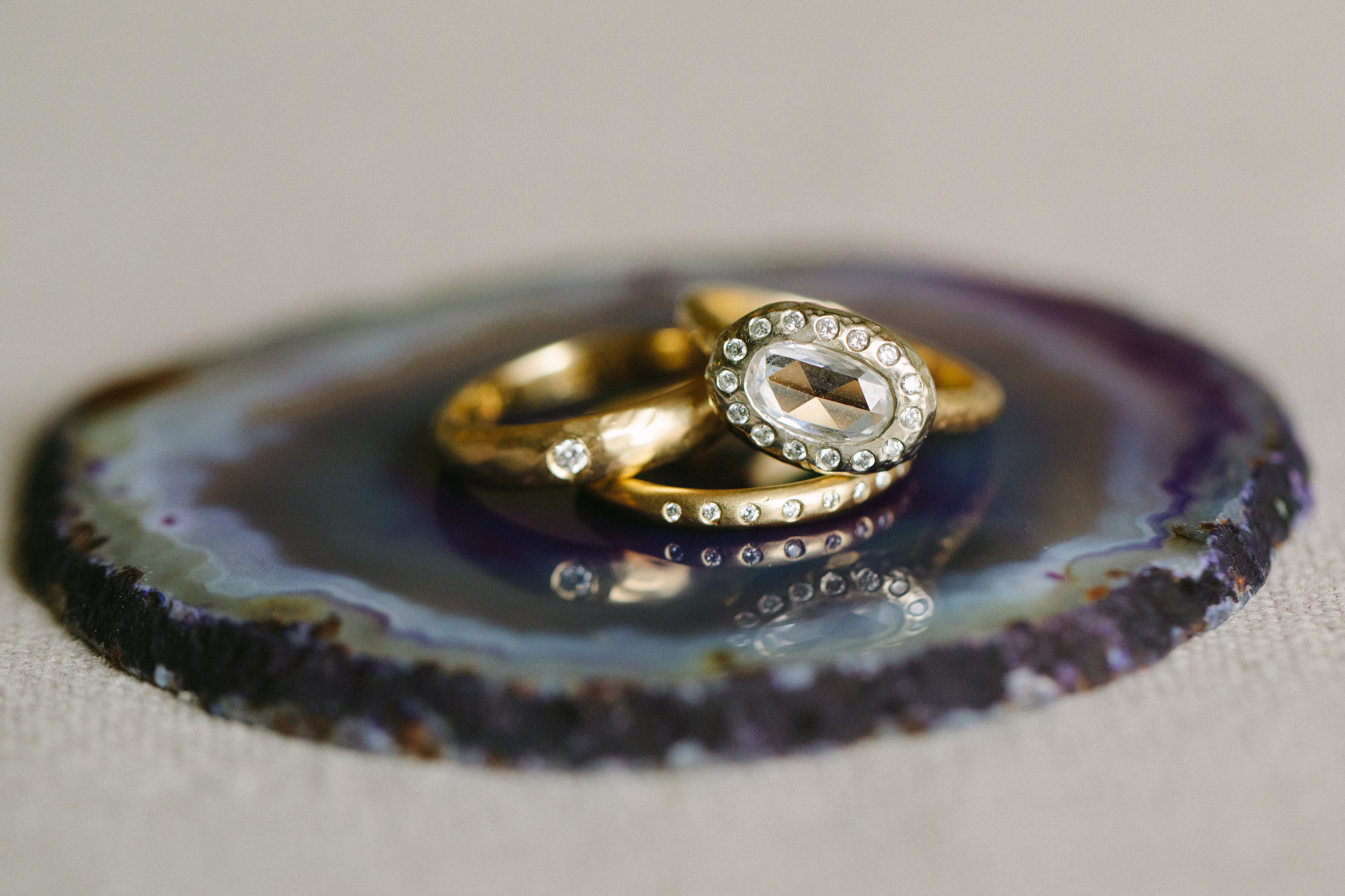 www.santabarbarawedding.com   San Ysidro Ranch   Imagine Events   Millay and Young Photo   Wedding Rings