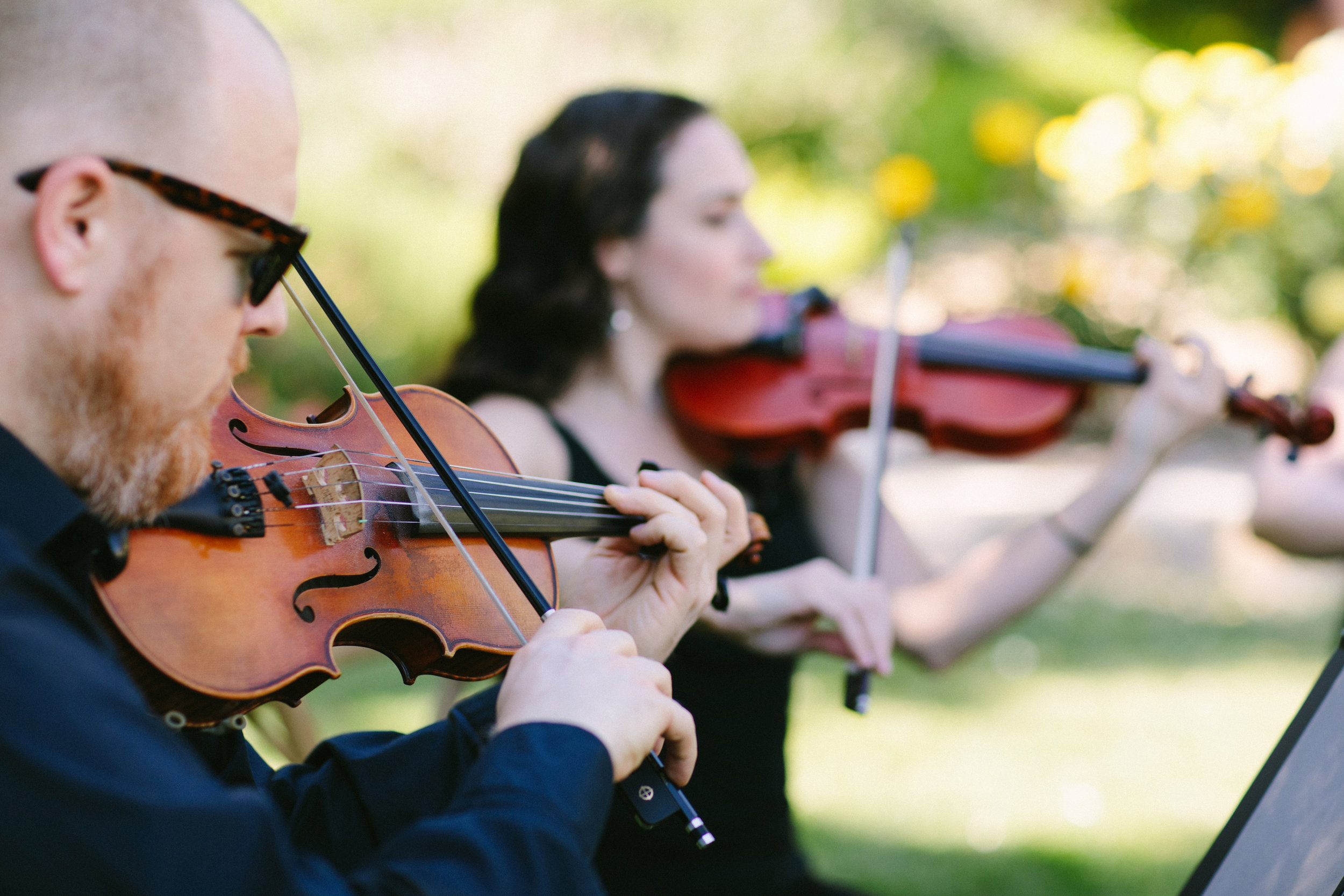 www.santabarbarawedding.com   San Ysidro Ranch   Imagine Events   Millay and Young Photo   String Quartet