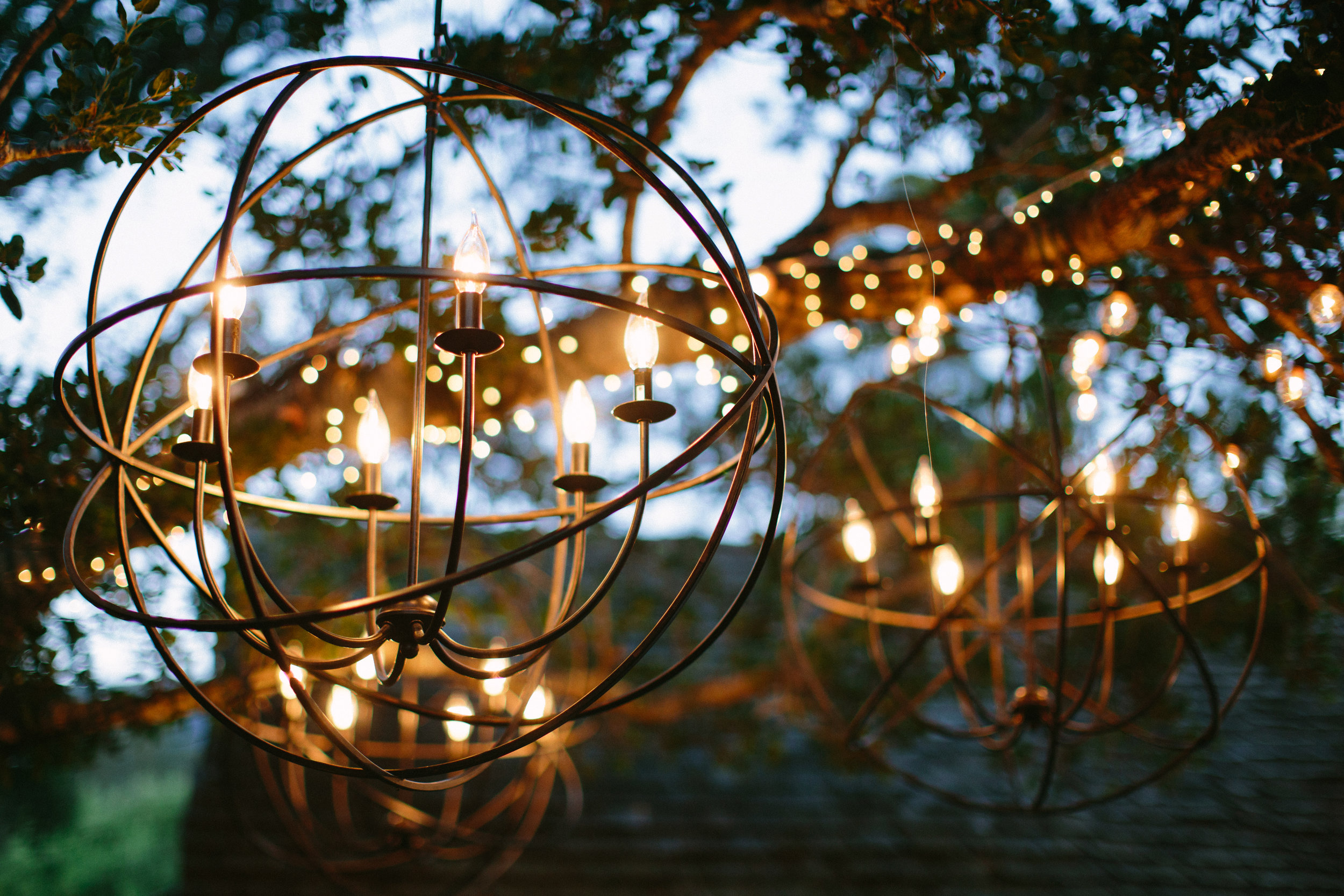 www.santabarbarawedding.com   San Ysidro Ranch   Imagine Events   Millay and Young Photo   Reception Lighting