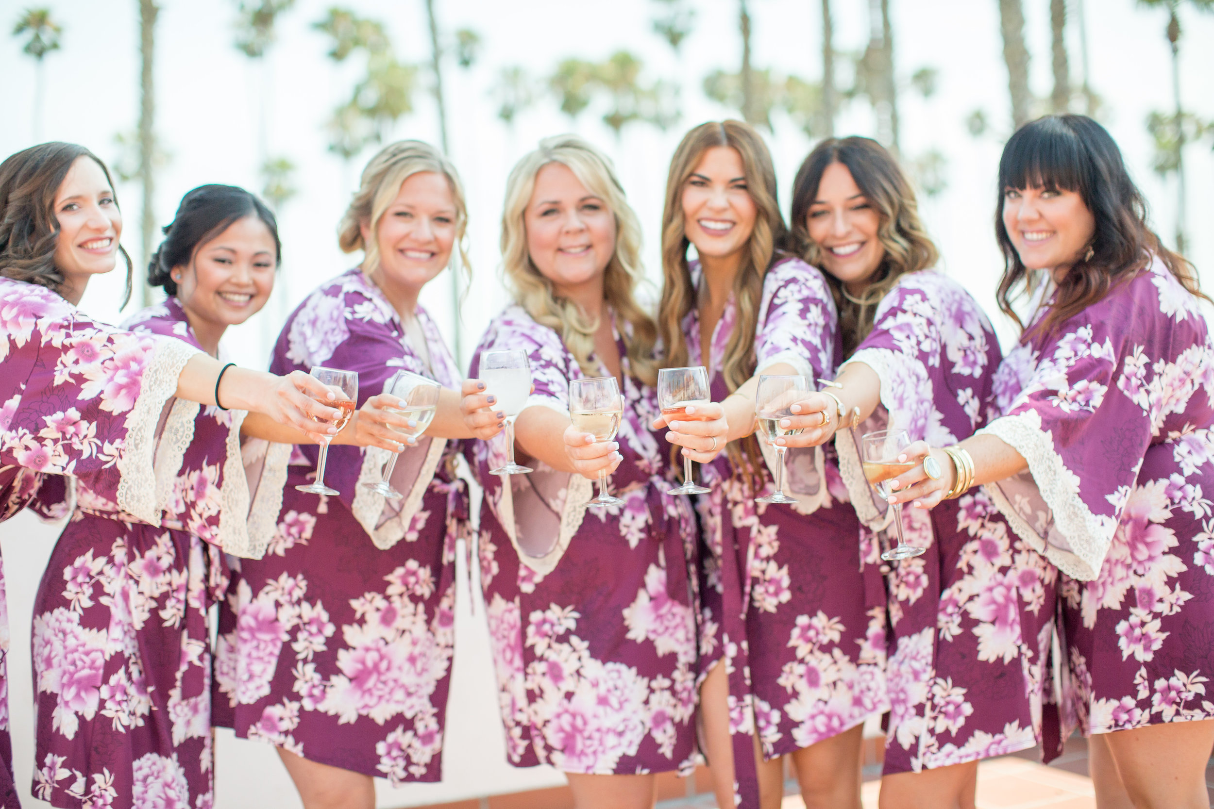 www.santabarbarawedding.com | Elings Park | Waller Weddings | Bridesmaids getting ready
