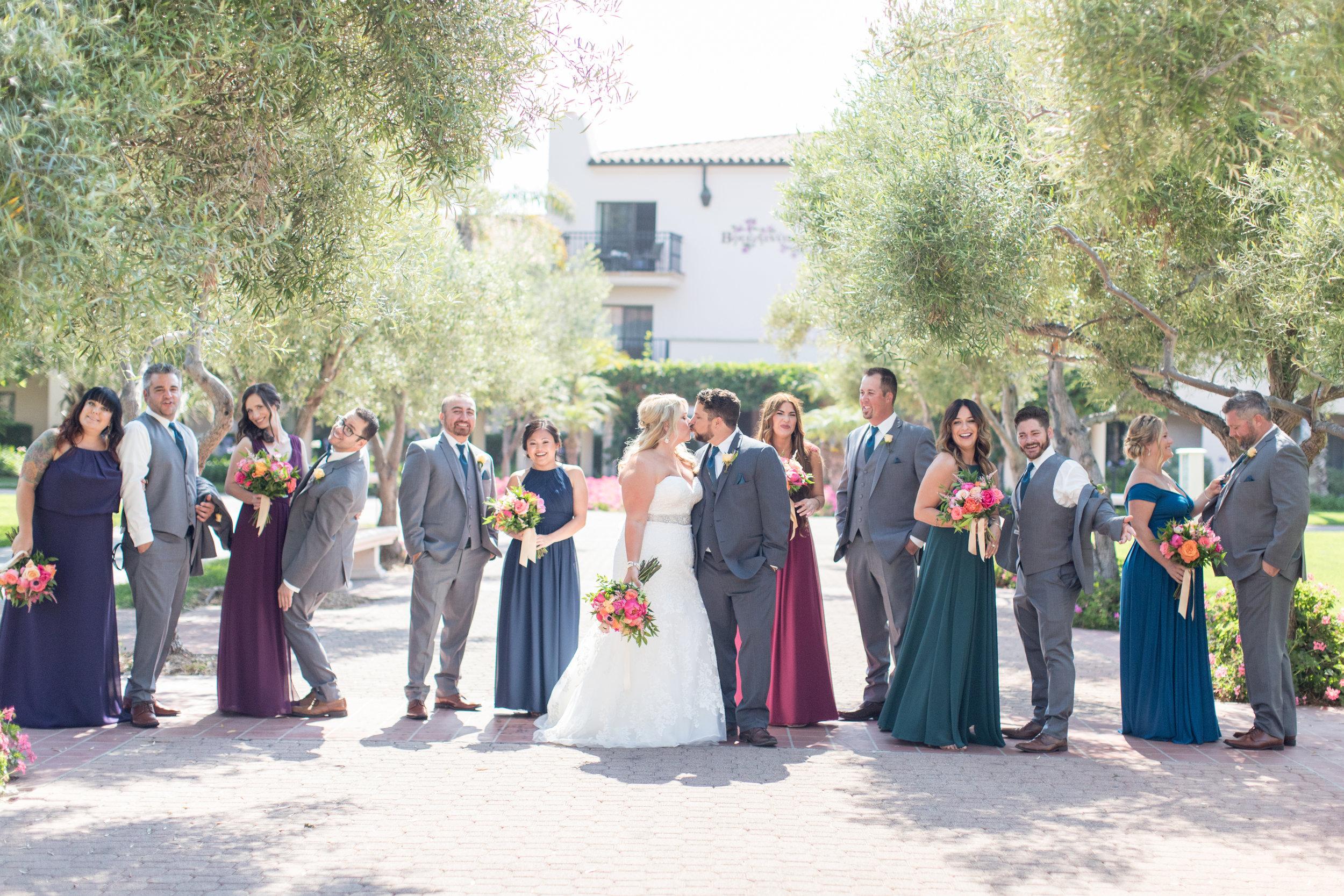 www.santabarbarawedding.com | Elings Park | Waller Weddings | Bridal Party