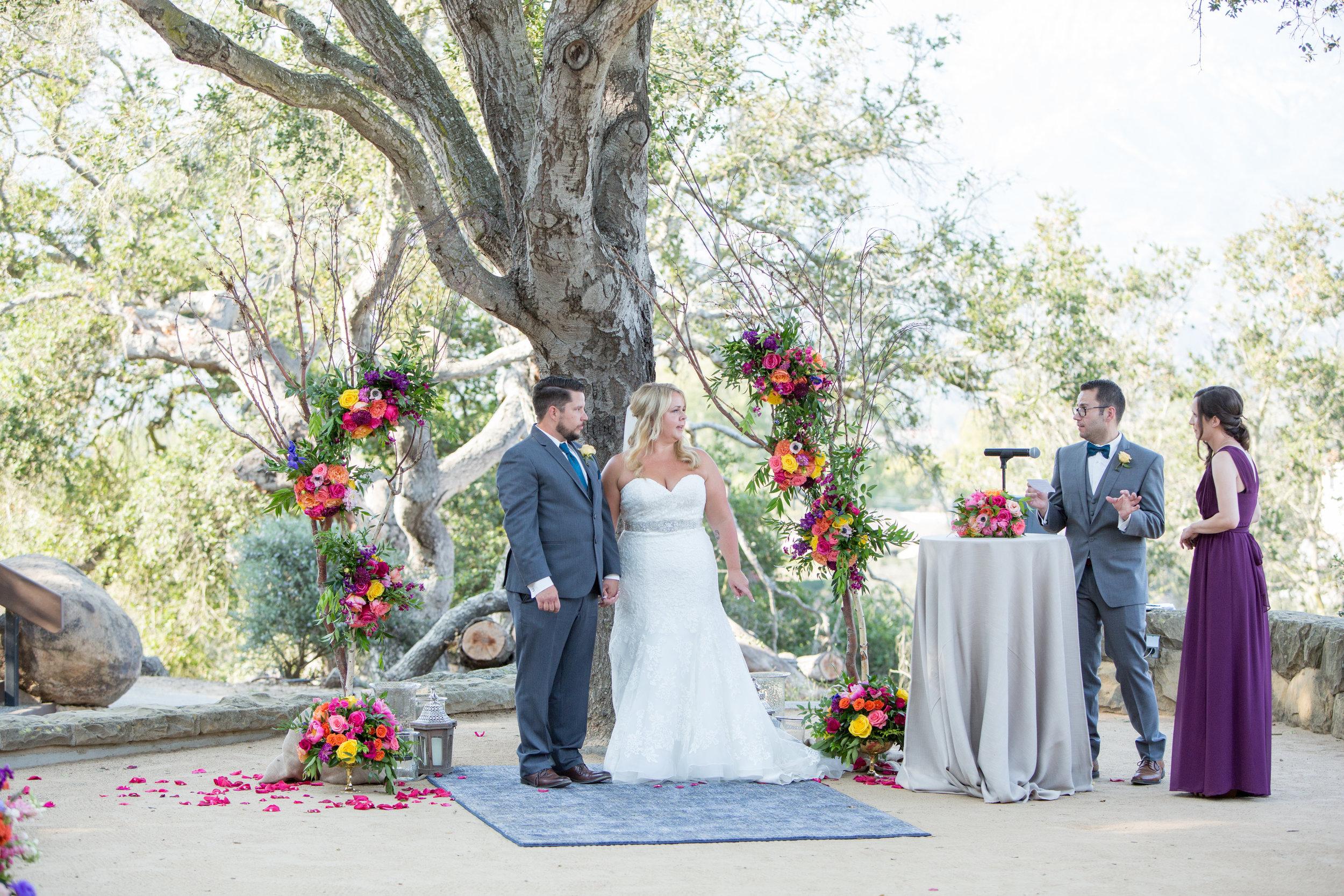 www.santabarbarawedding.com | Elings Park | Waller Weddings | Ceremony