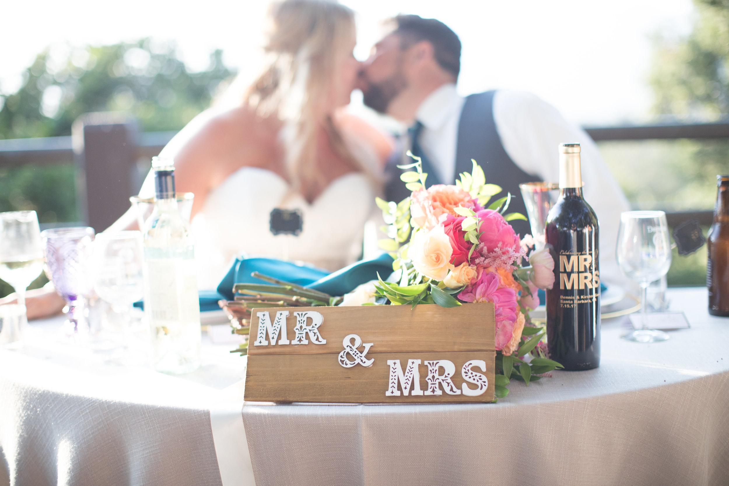 www.santabarbarawedding.com | Elings Park | Waller Weddings | Head Table