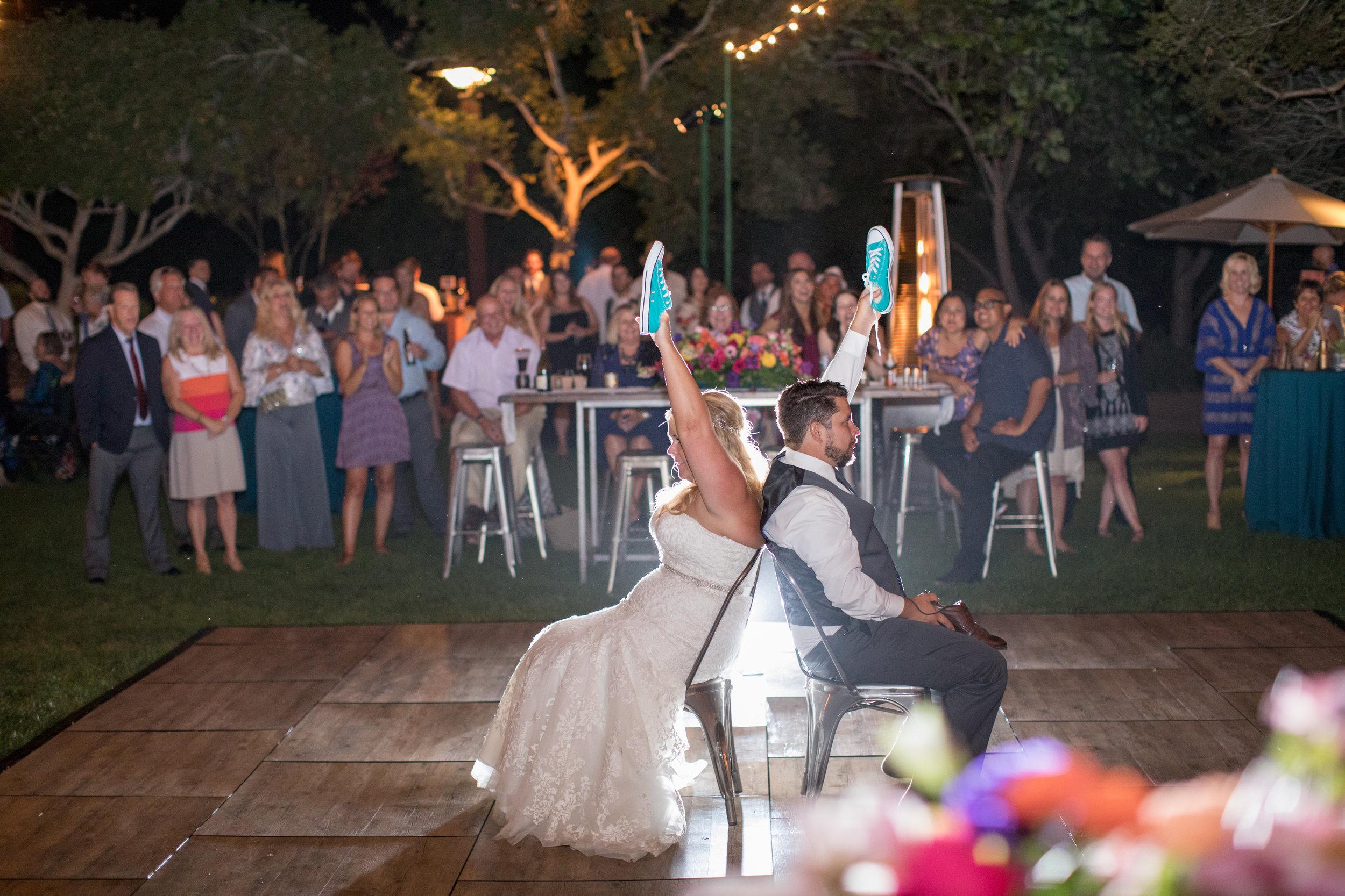 www.santabarbarawedding.com | Elings Park | Waller Weddings | Shoe Game