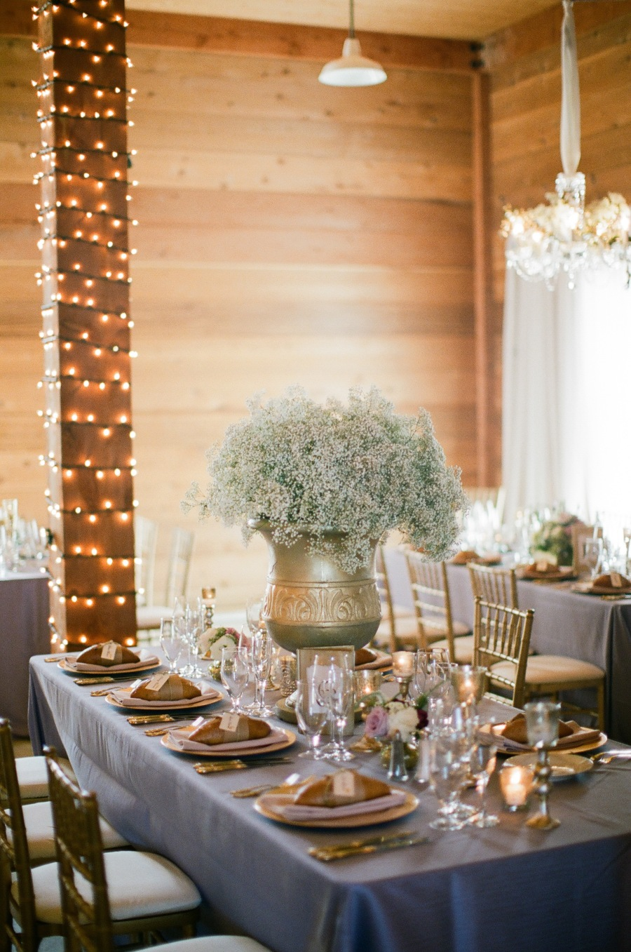 www.santabarbarawedding.com | Soigne Productions | Michael and Anna Costa | Zaca Creek Ranch | Reception Table