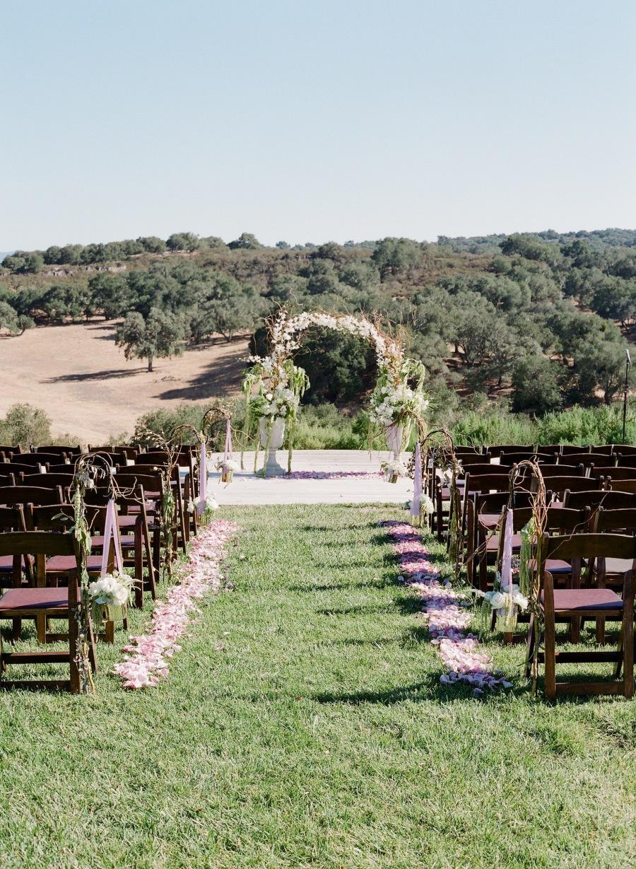 www.santabarbarawedding.com | Soigne Productions | Michael and Anna Costa | Zaca Creek Ranch | Ceremony