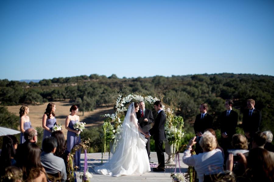 www.santabarbarawedding.com | Soigne Productions | Michael and Anna Costa | Zaca Creek Ranch | Ceremony | Vows