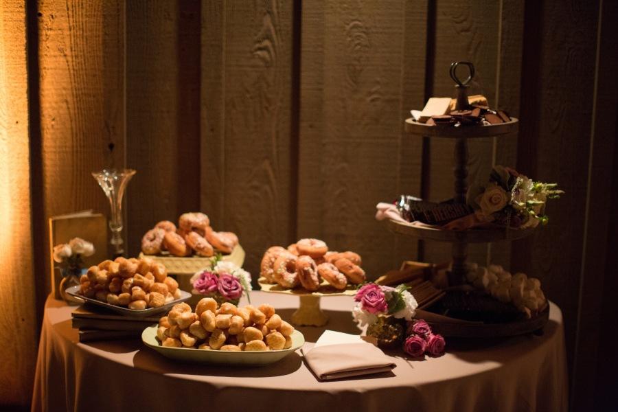 www.santabarbarawedding.com | Soigne Productions | Michael and Anna Costa | Zaca Creek Ranch | Dessert Table