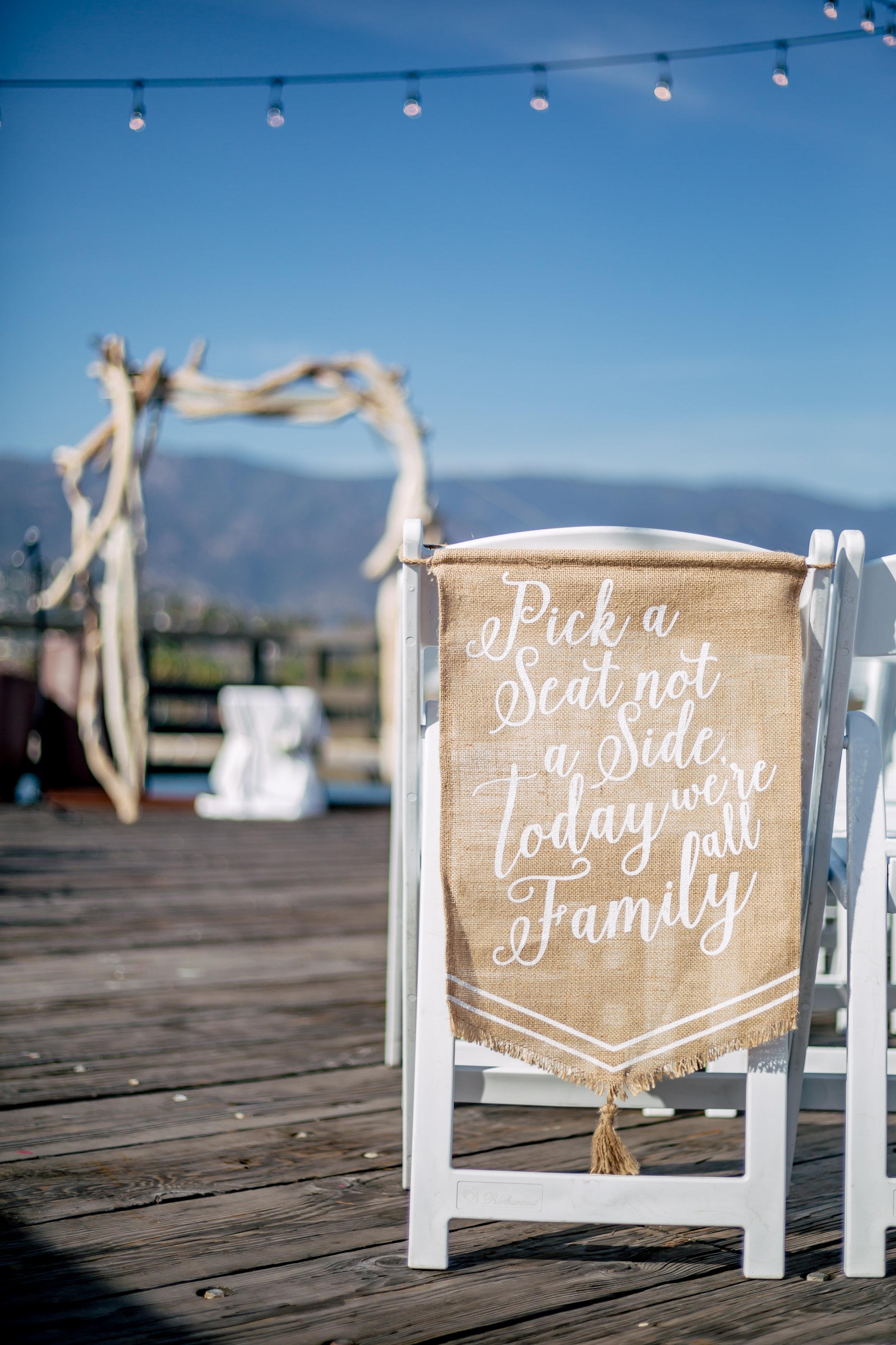 www.santabarbarawedding.com | Rewind Photography | Sea Center