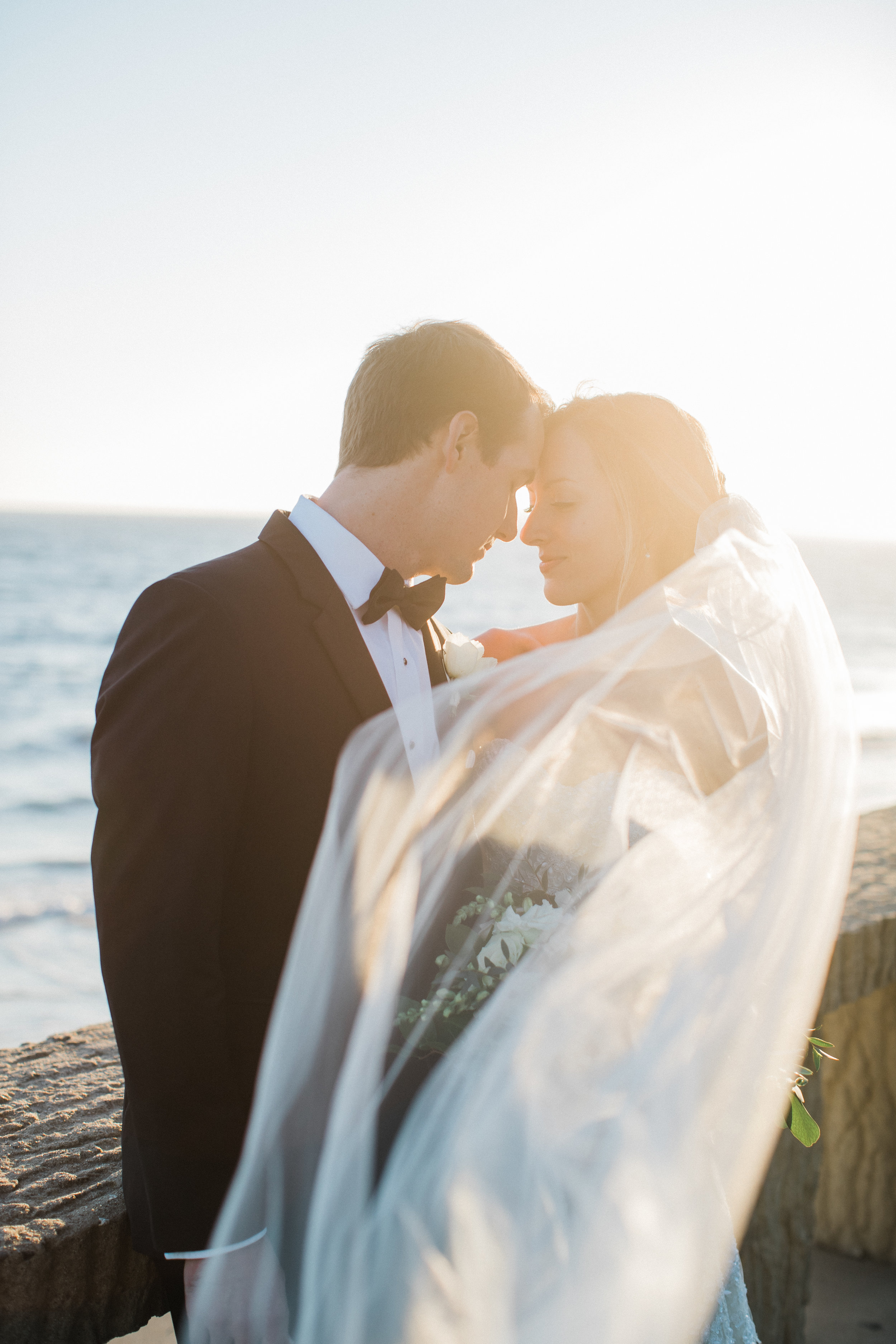 www.santabarbarawedding.com | KB Events | Michael and Anna Costa | Four Seasons The Biltmore | Bride and Groom