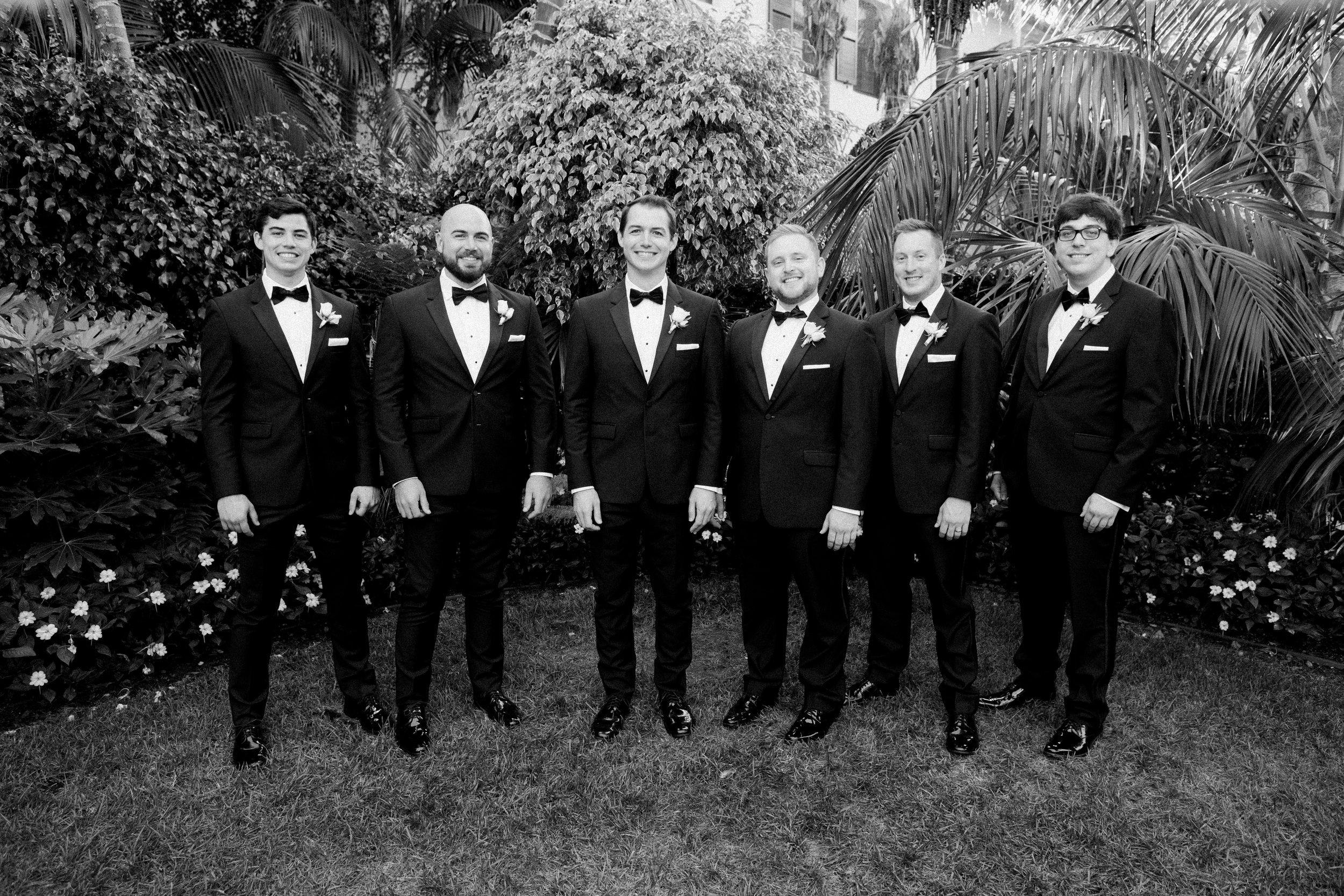 www.santabarbarawedding.com | KB Events | Michael and Anna Costa | Four Seasons The Biltmore | Groomsmen