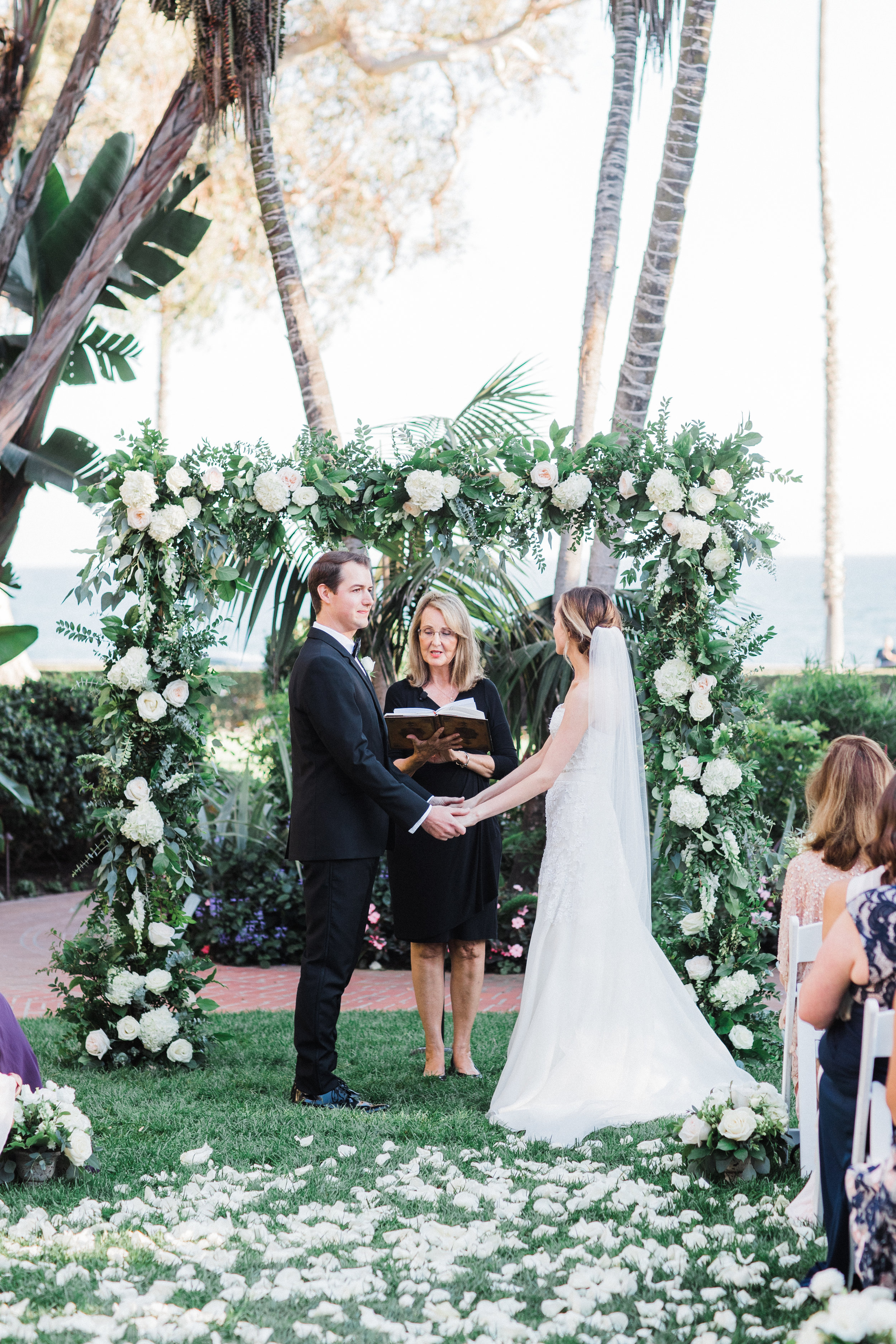 www.santabarbarawedding.com | KB Events | Michael and Anna Costa | Four Seasons The Biltmore | Vows | Ceremony