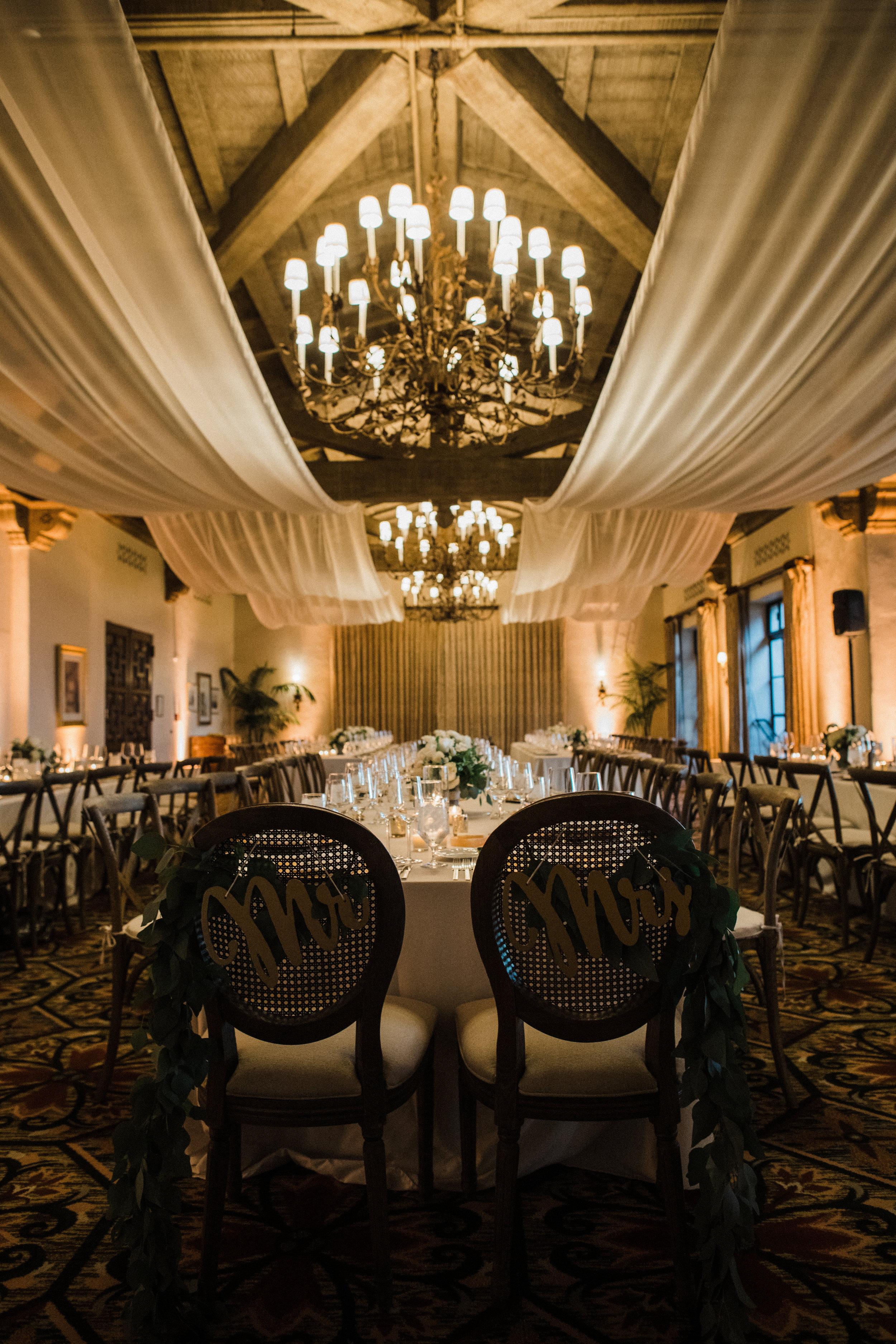 www.santabarbarawedding.com | KB Events | Michael and Anna Costa | Four Seasons The Biltmore | Reception
