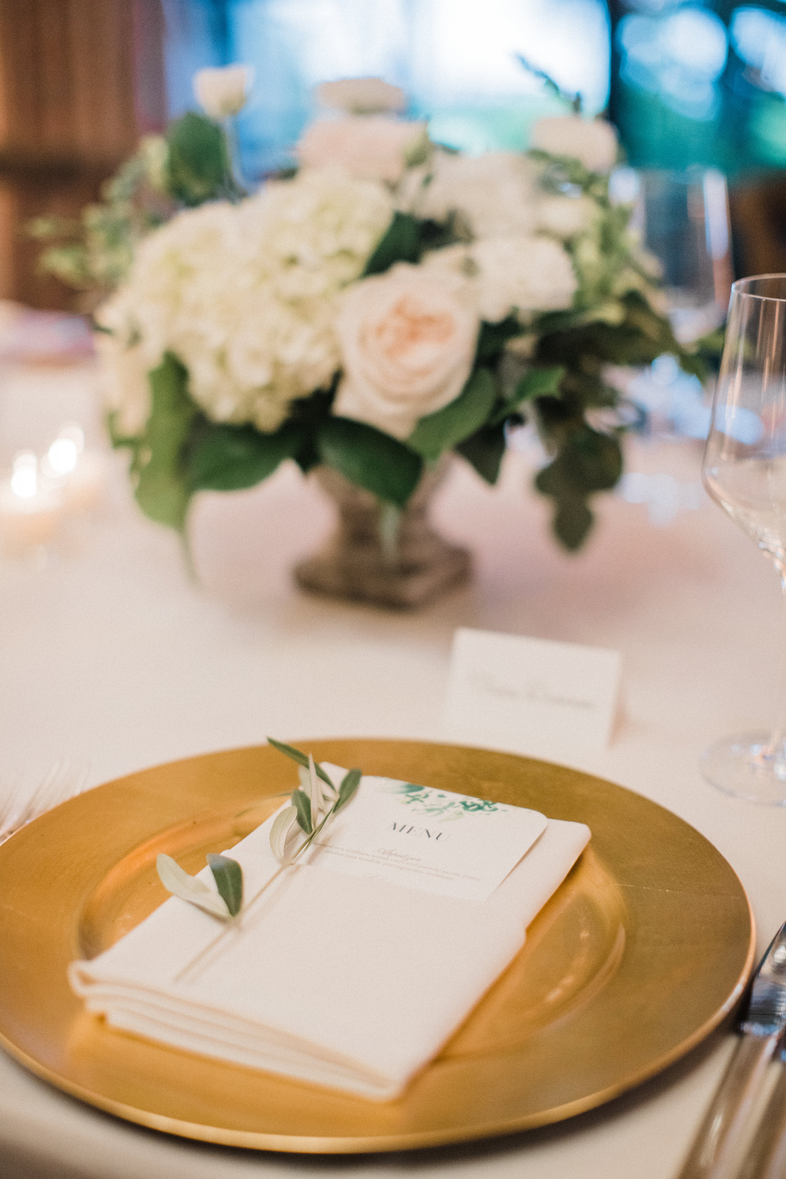 www.santabarbarawedding.com | KB Events | Michael and Anna Costa | Four Seasons The Biltmore | Place Settings